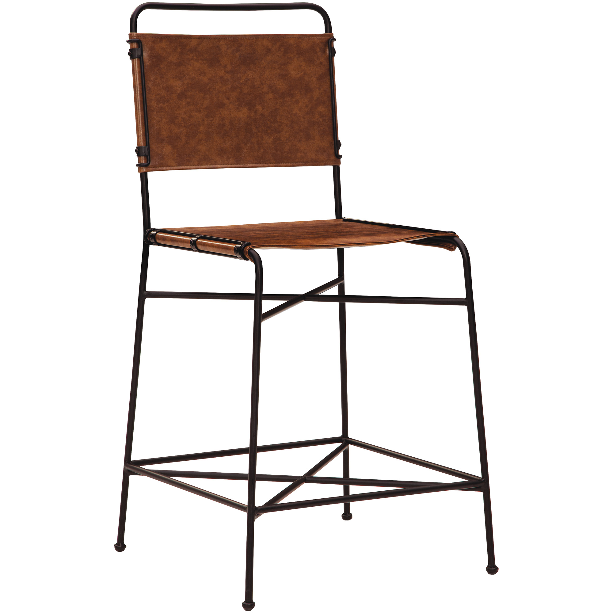 Kith Furniture | Branson Charcoal Counter Stool