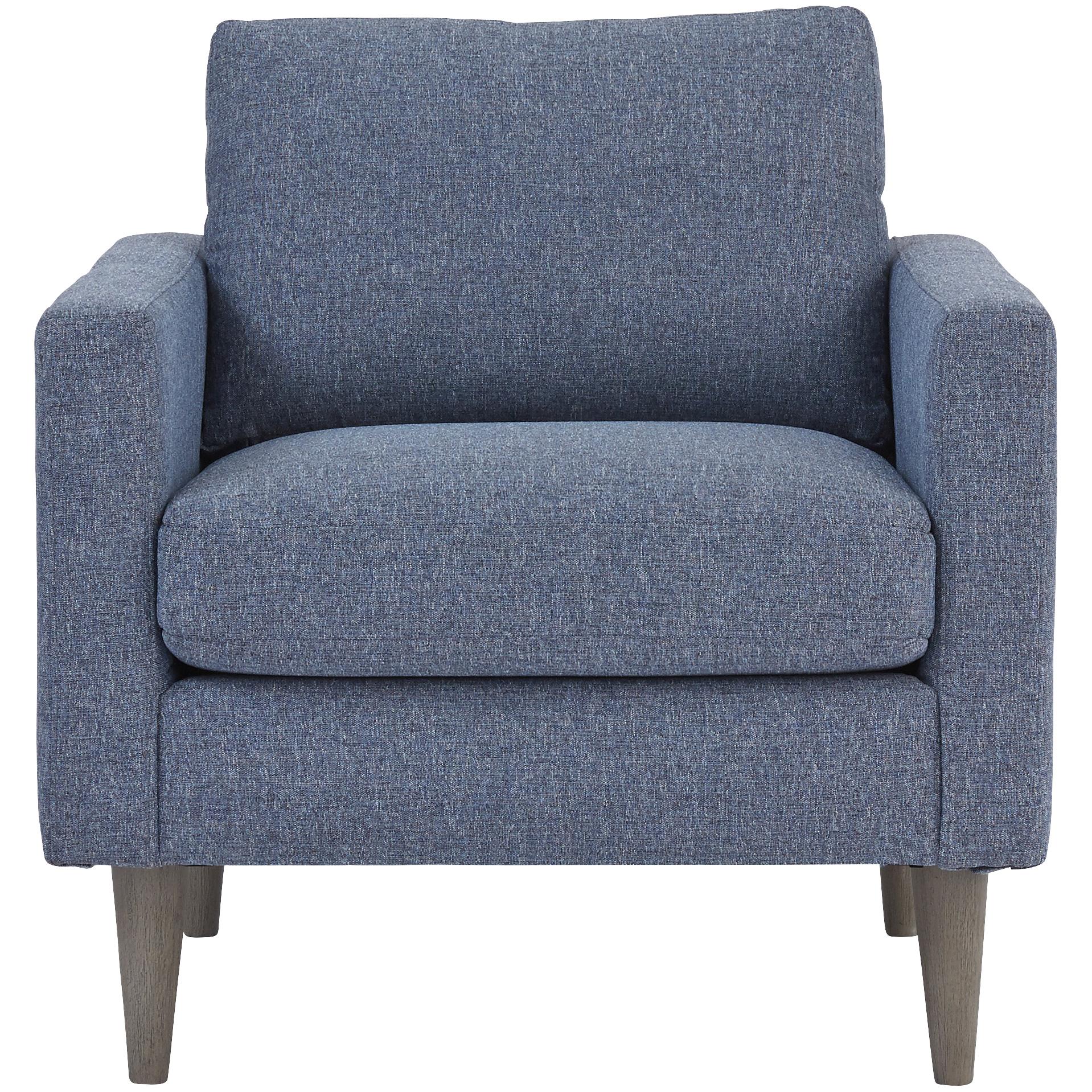 Best Home Furnishings | Trafton Denim Chair