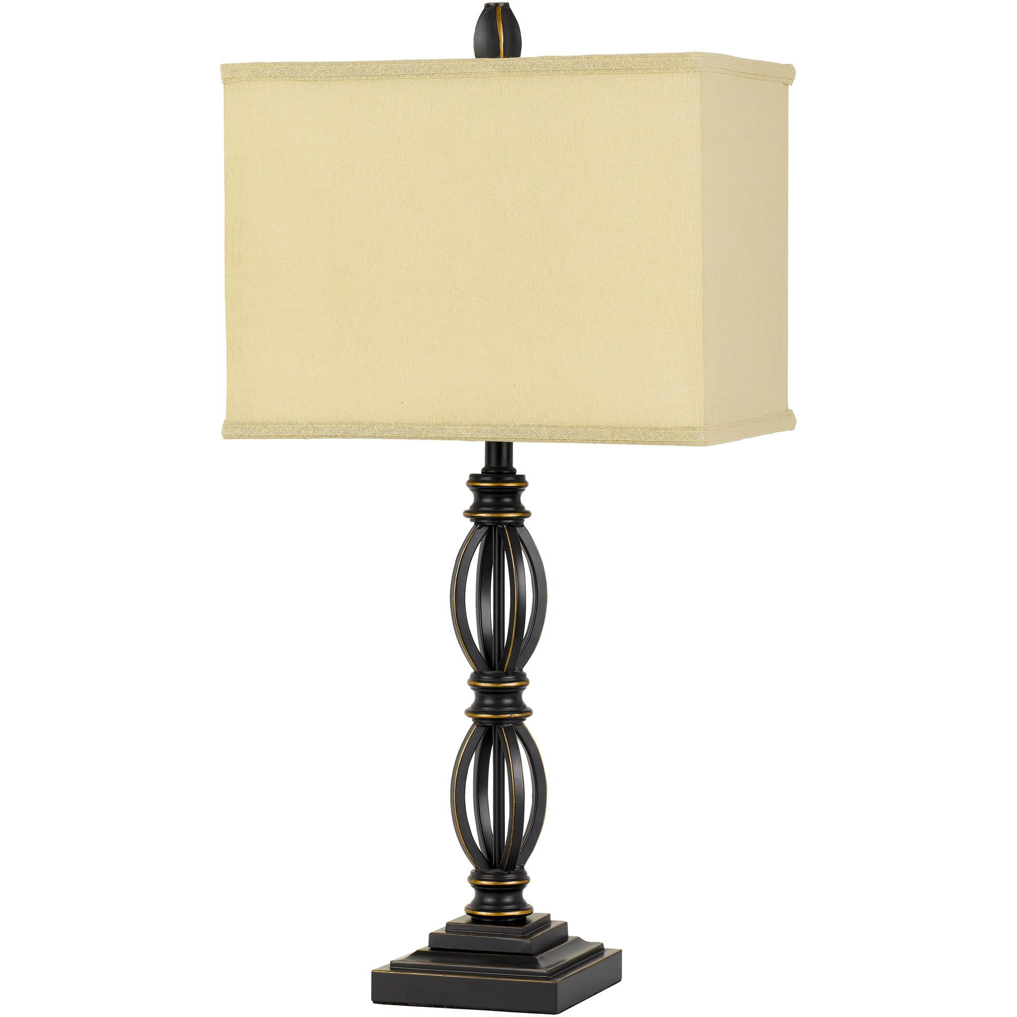 Cal Lighting | Mondovi Brown Table Lamp