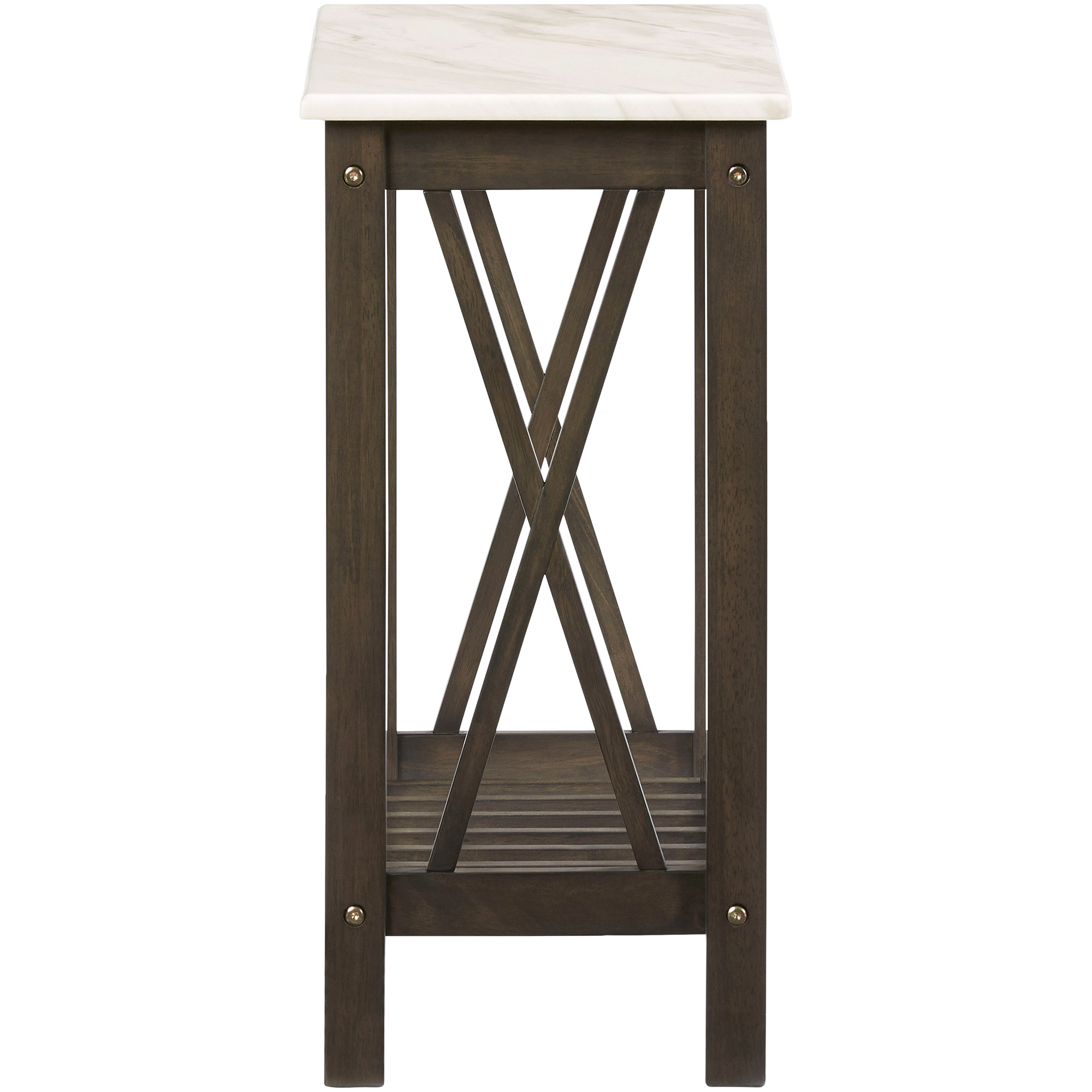 Progressive | Chairsides III Brown Chairside Table
