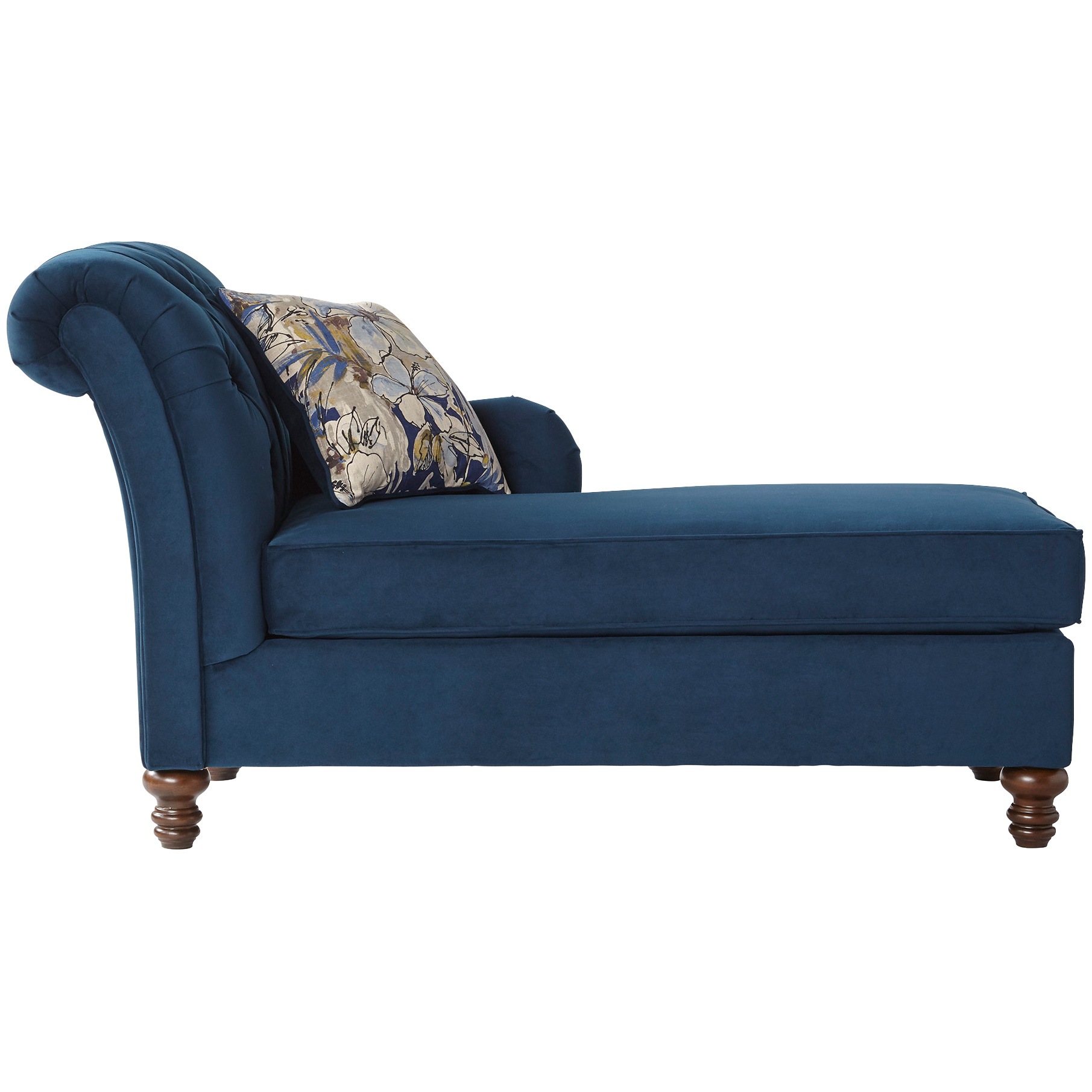 Serta Upholstery By Hughes Furniture | Ansburn Bing Indigo Chaise Lounge