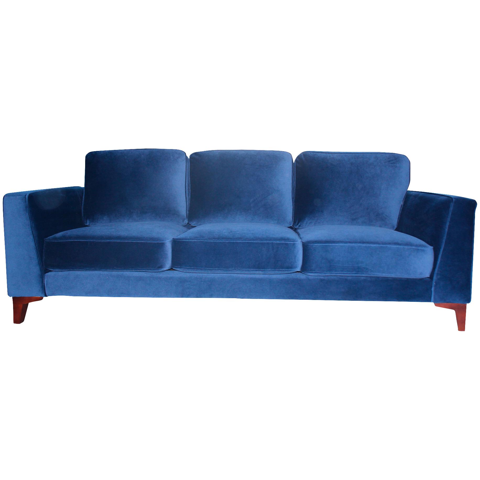 Urban Chic Upholstery | Bradley Midnight Sofa