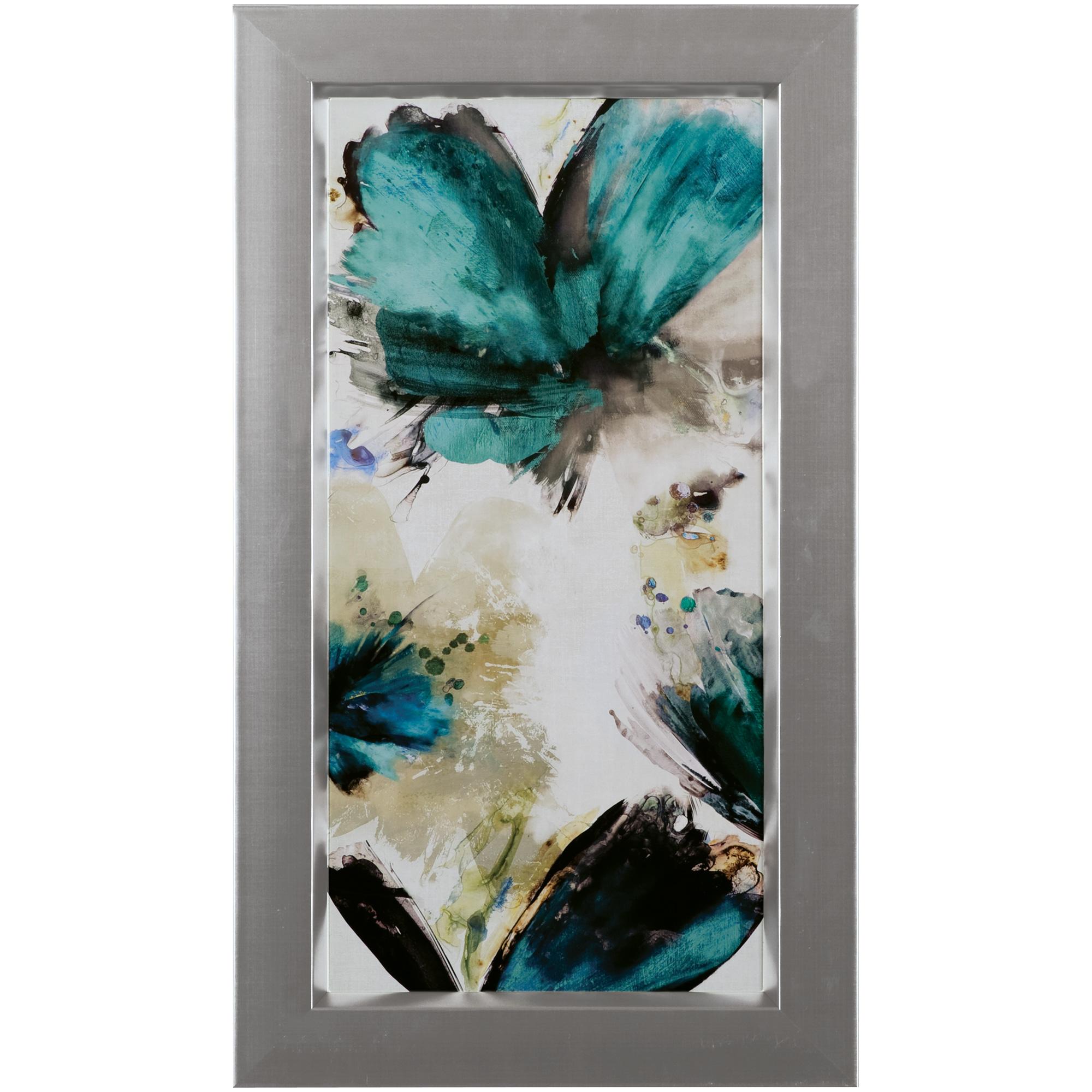 Art Effects | Blue Ribbon Blooms I Framed Art