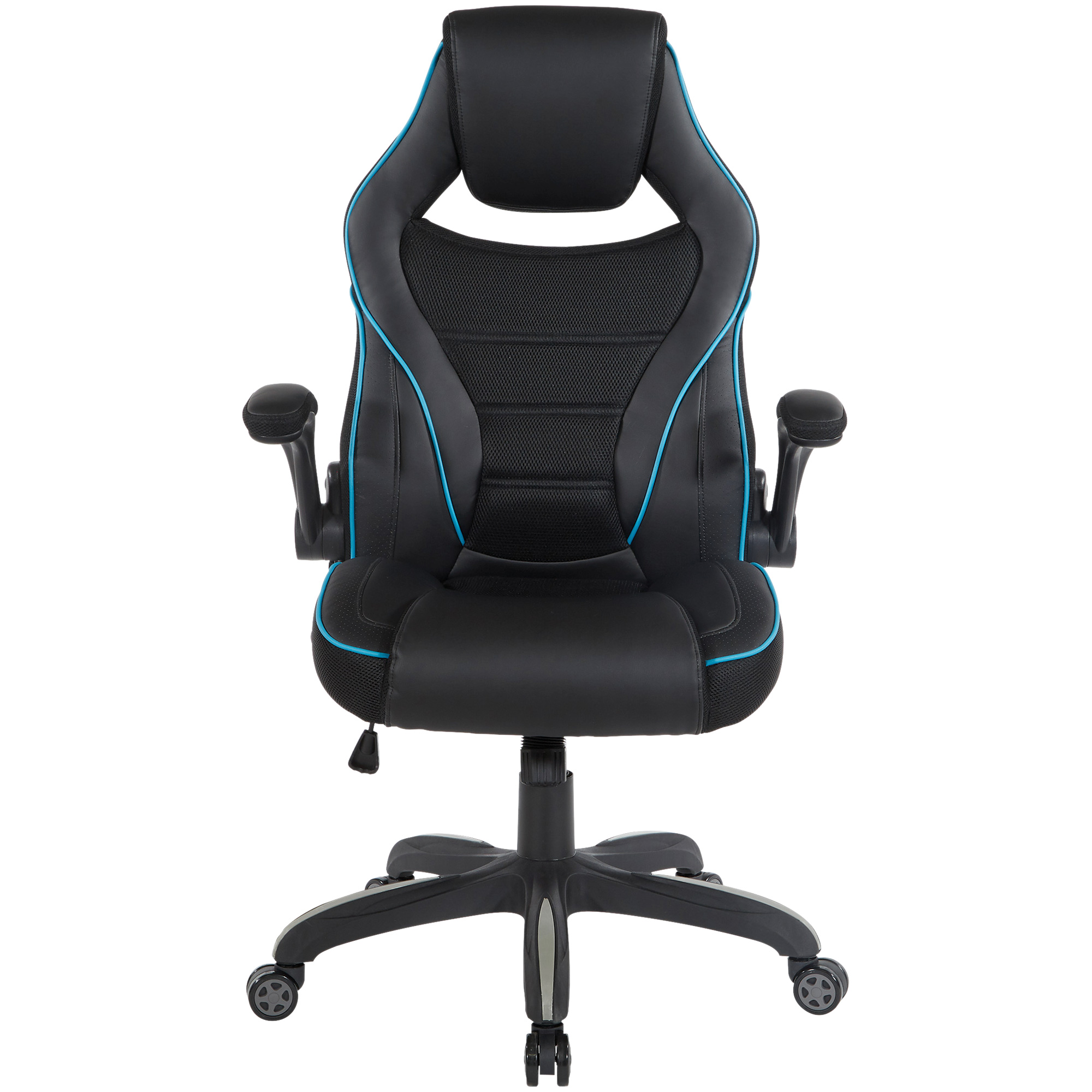 Office Star Products | Gino Blue Gaming Chair