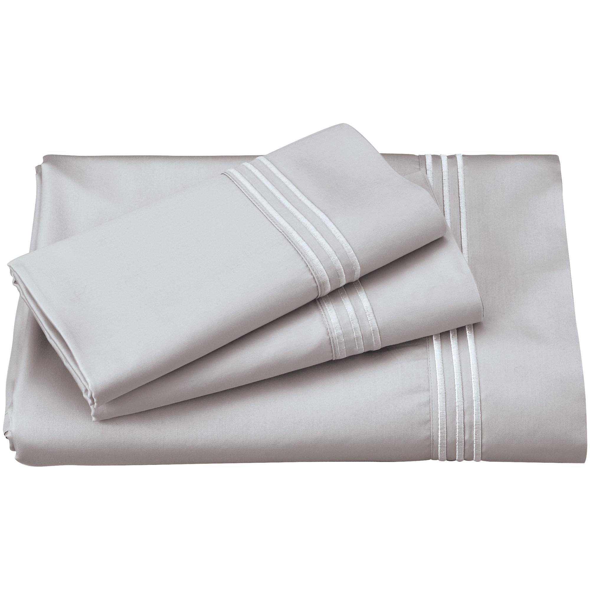 Purecare | Elements Dove Gray Split King Celliant Sheet Set