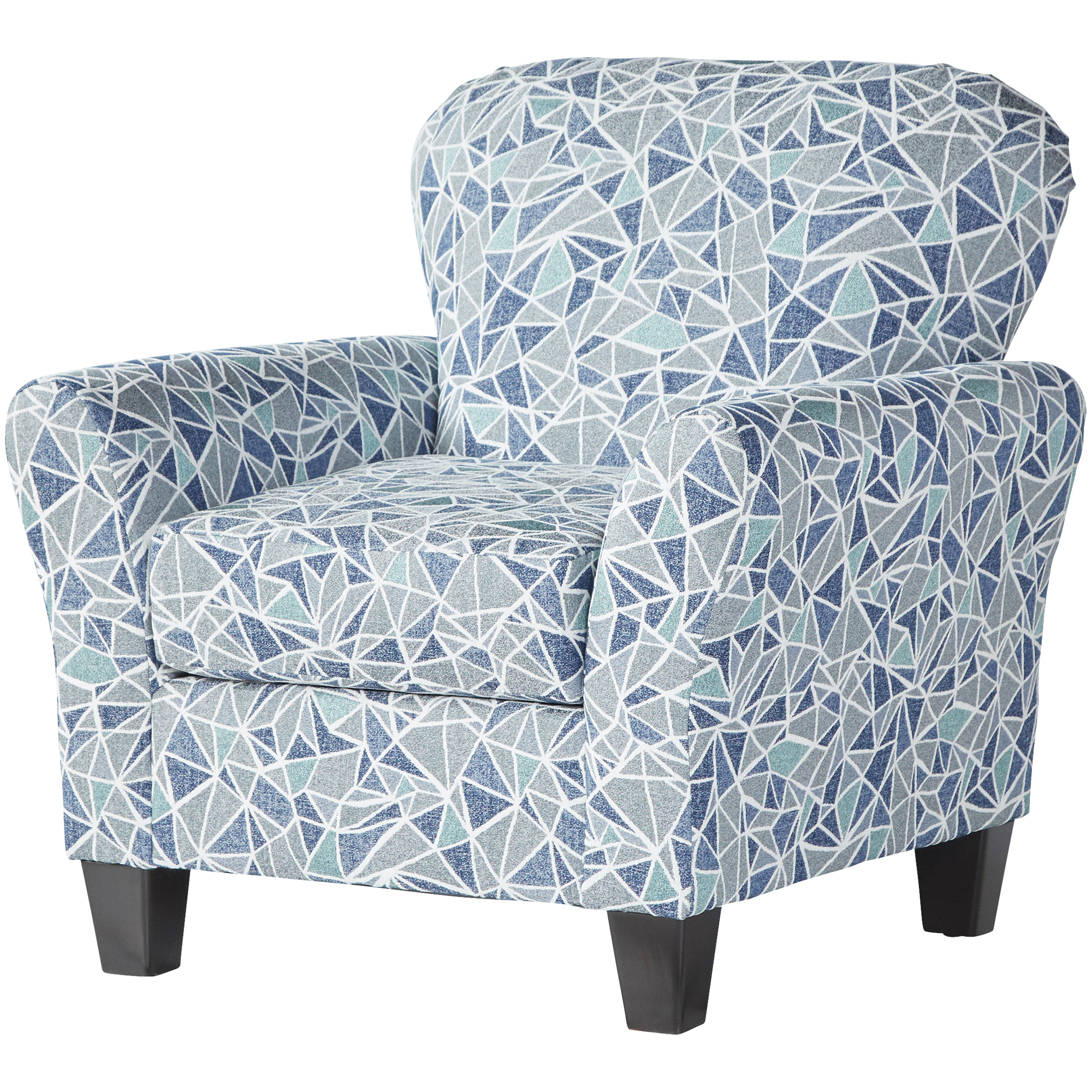 Serta Upholstery By Hughes Furniture | Bolt Cobalt Accent Chair