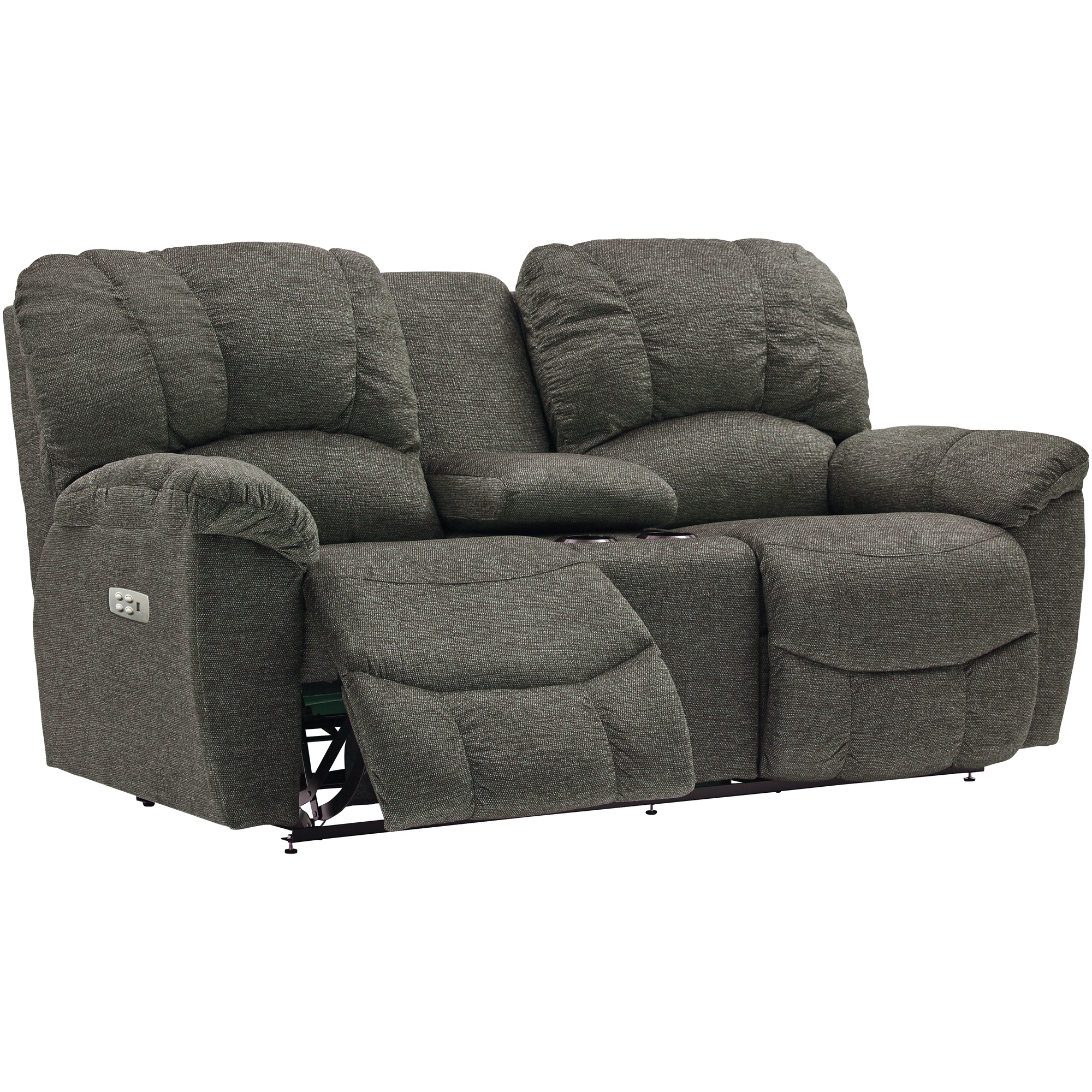 La-Z-Boy | Hayes Sable Power Plus Reclining Console Loveseat Sofa