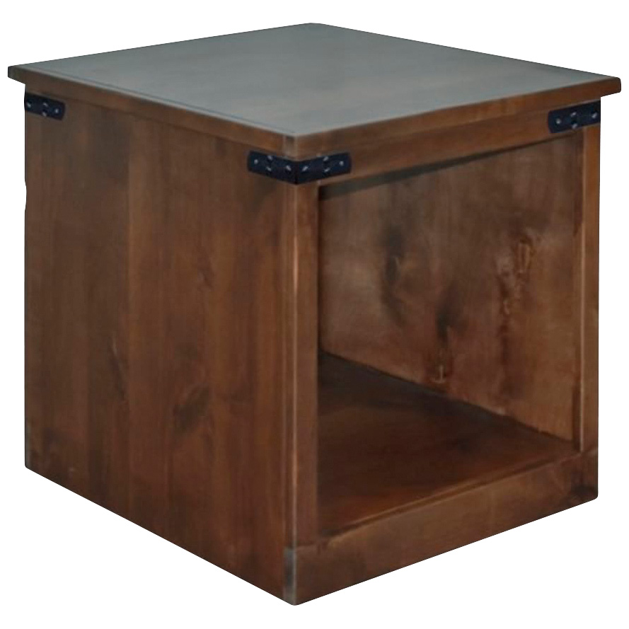Legends   Farmhouse Aged Whiskey End Table