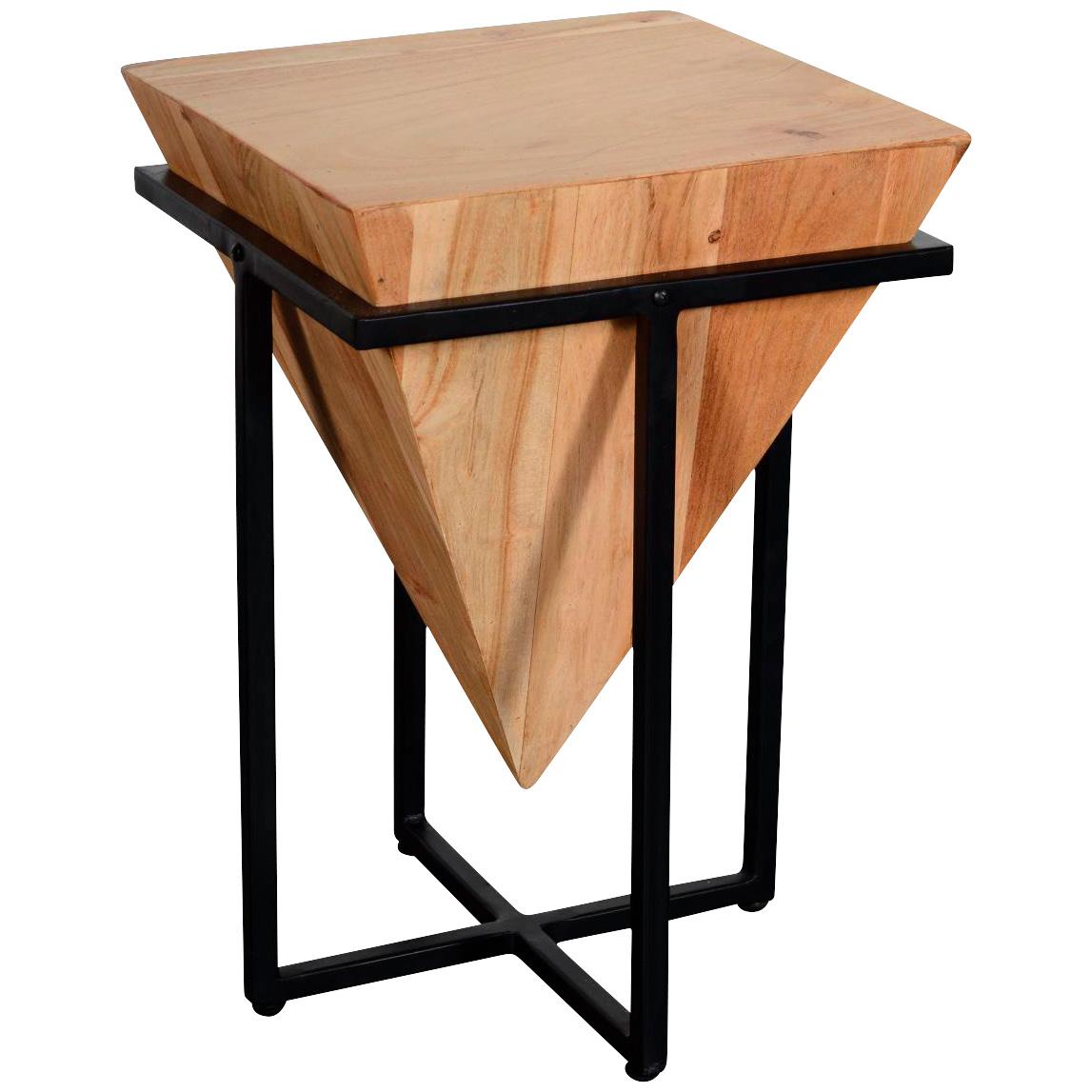 Design Destinations | Brixton Natural Big Cube End Table