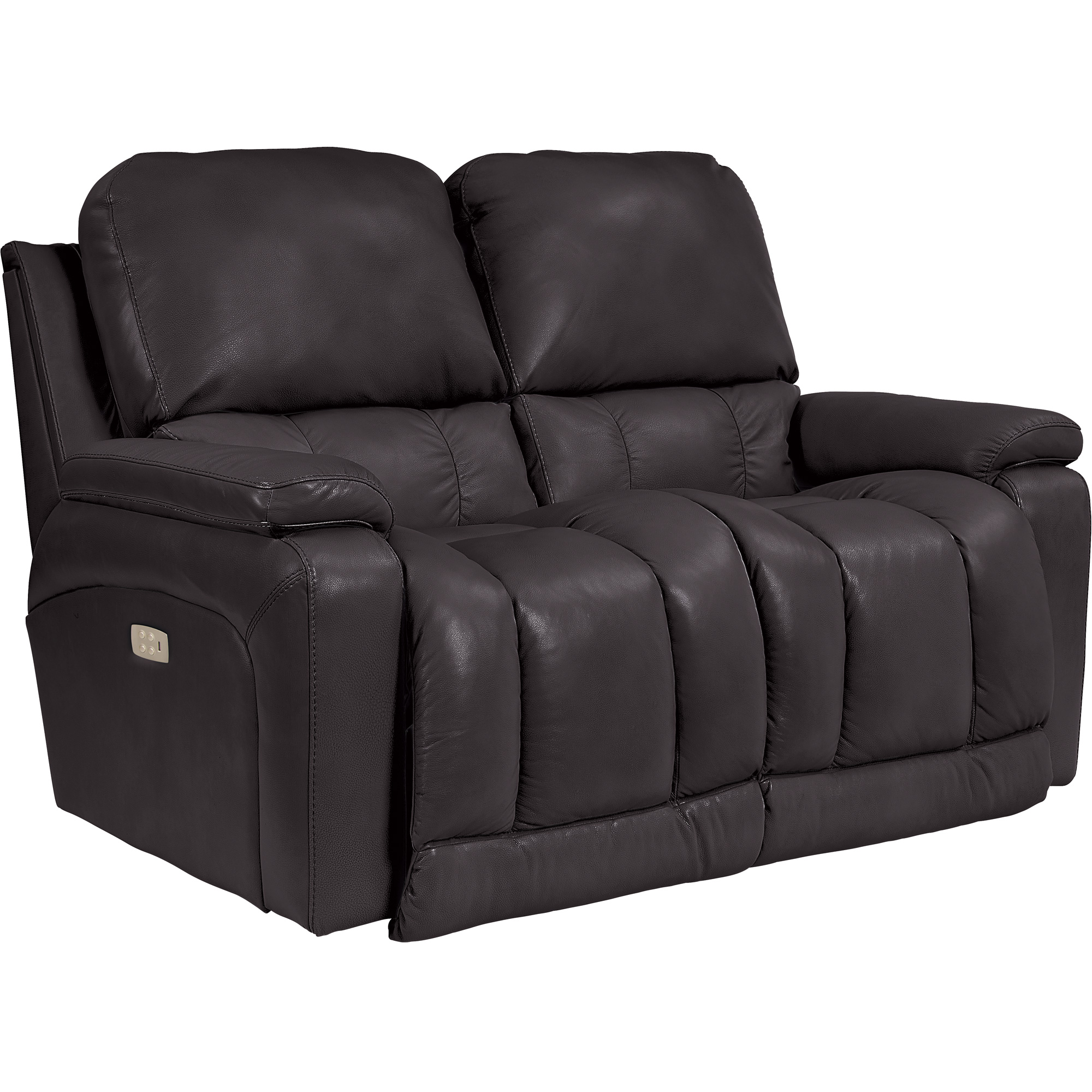 La-Z-Boy | Greyson Chocolate Power Plus Reclining Loveseat Sofa