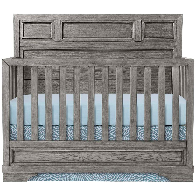 Westwood Design | Foundry Brushed Pewter Crib