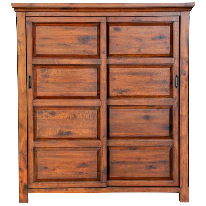 Napa Furniture   Hill Crest Dark Chestnut Armoire