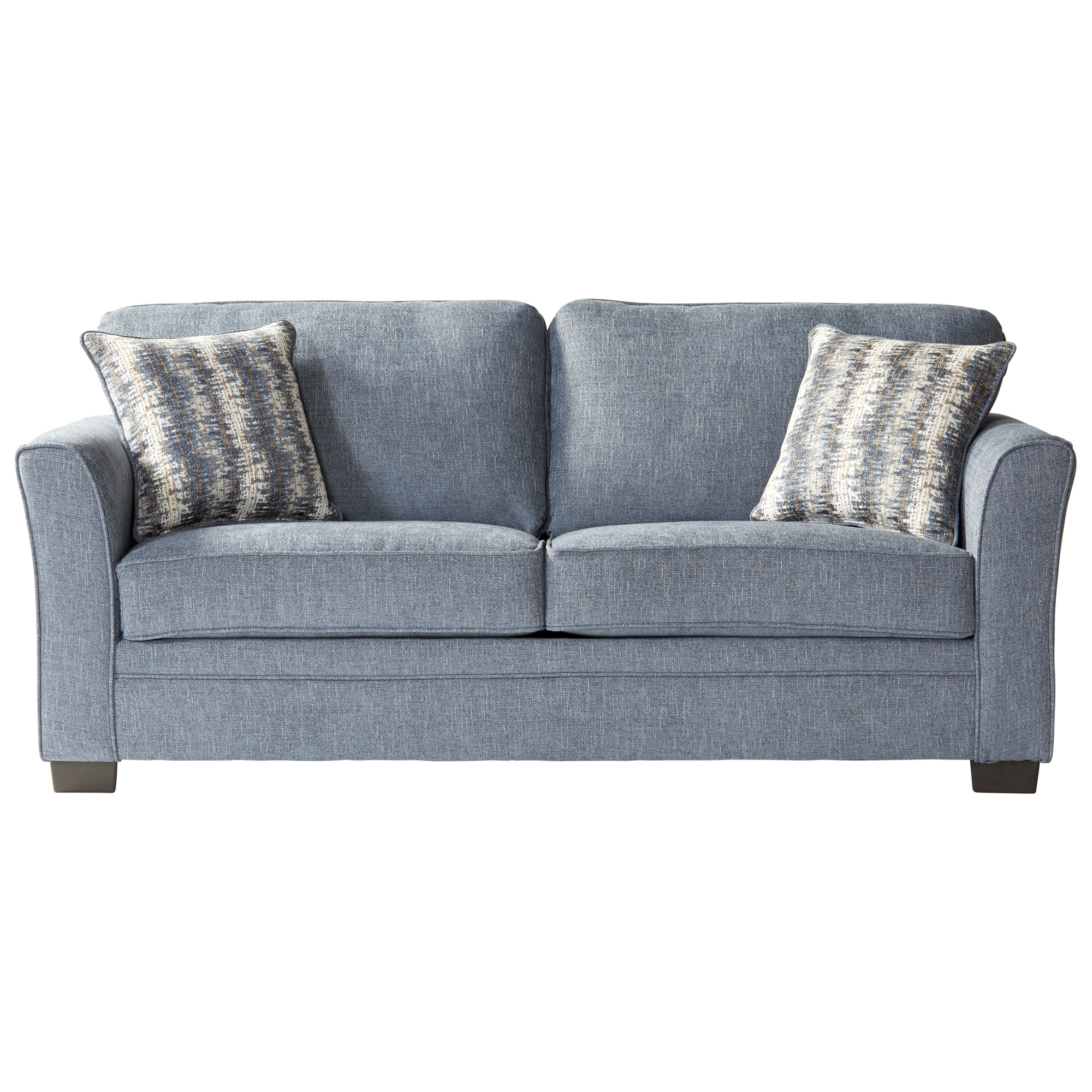 Serta Upholstery By Hughes Furniture | Bolster Ocean Full Sleeper Sofa