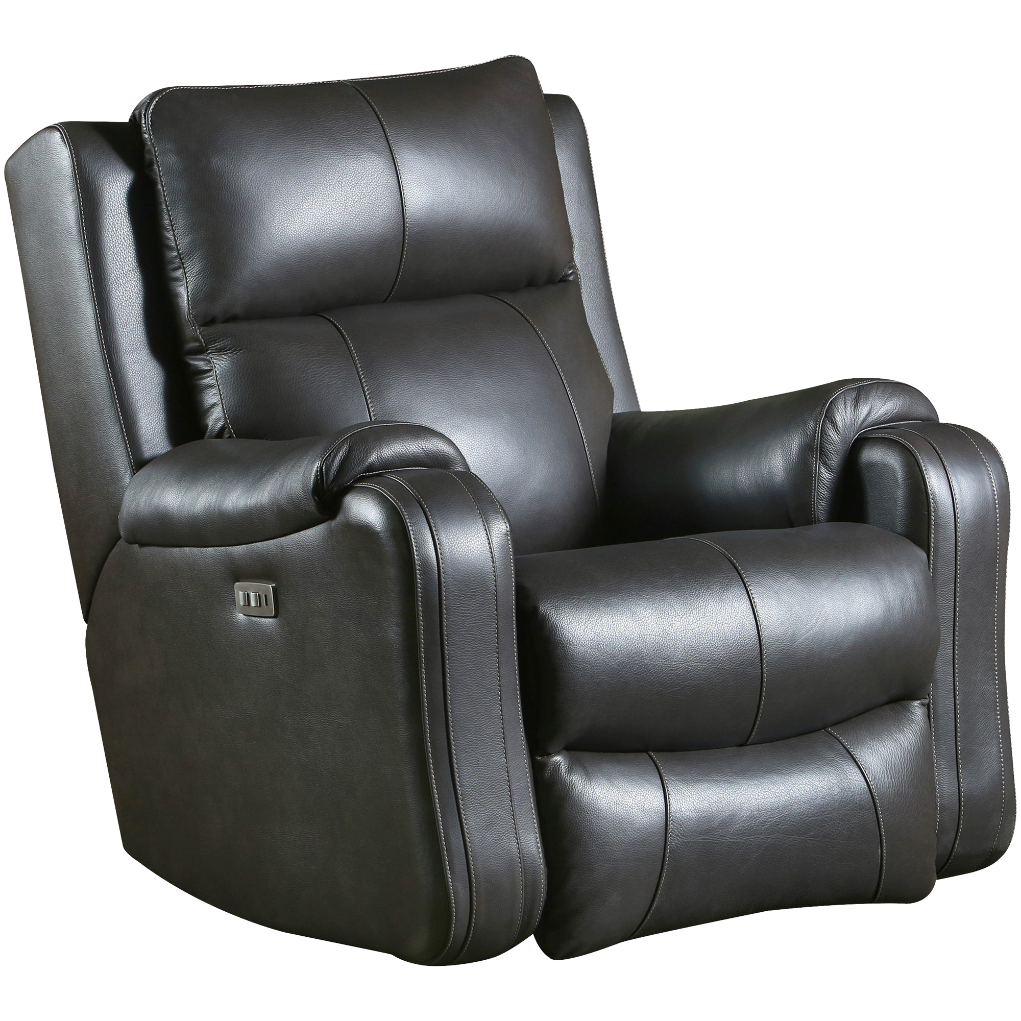 Southern Motion | Contour Leather Fossil Power+ Rocker Recliner Chair