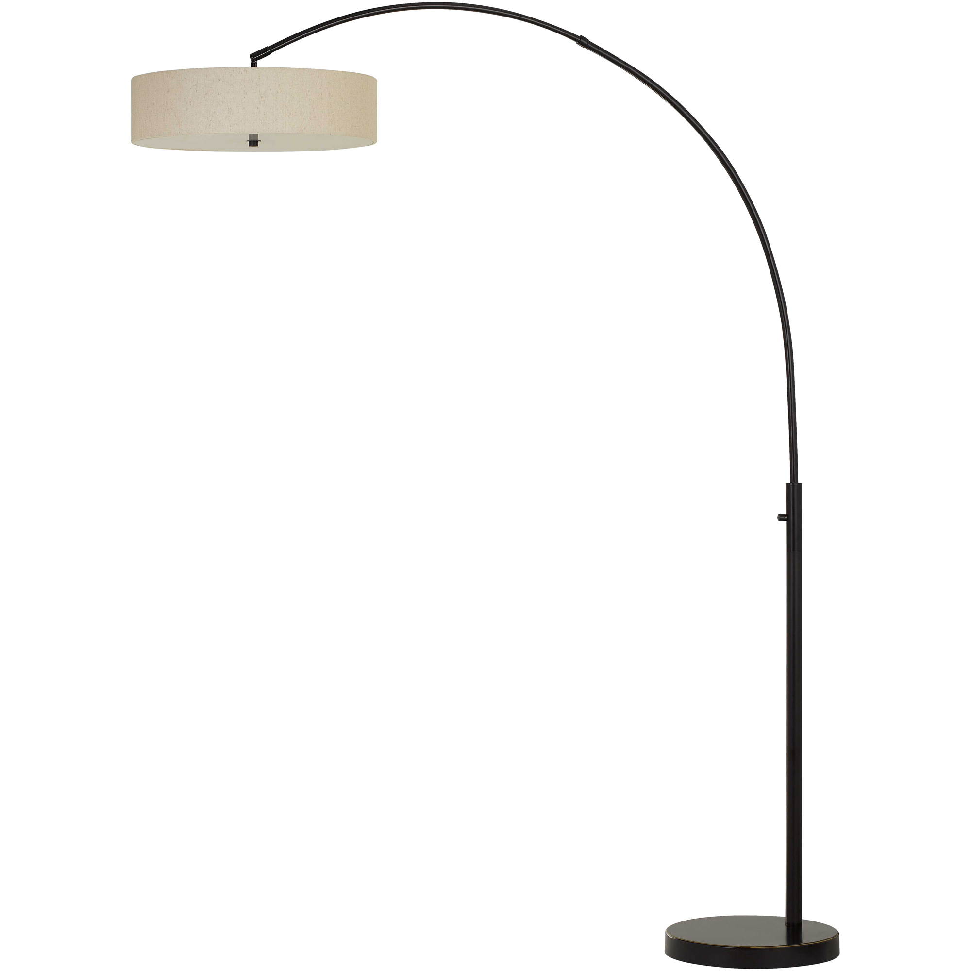 Cal Lighting | Chardon Brown Floor Lamp