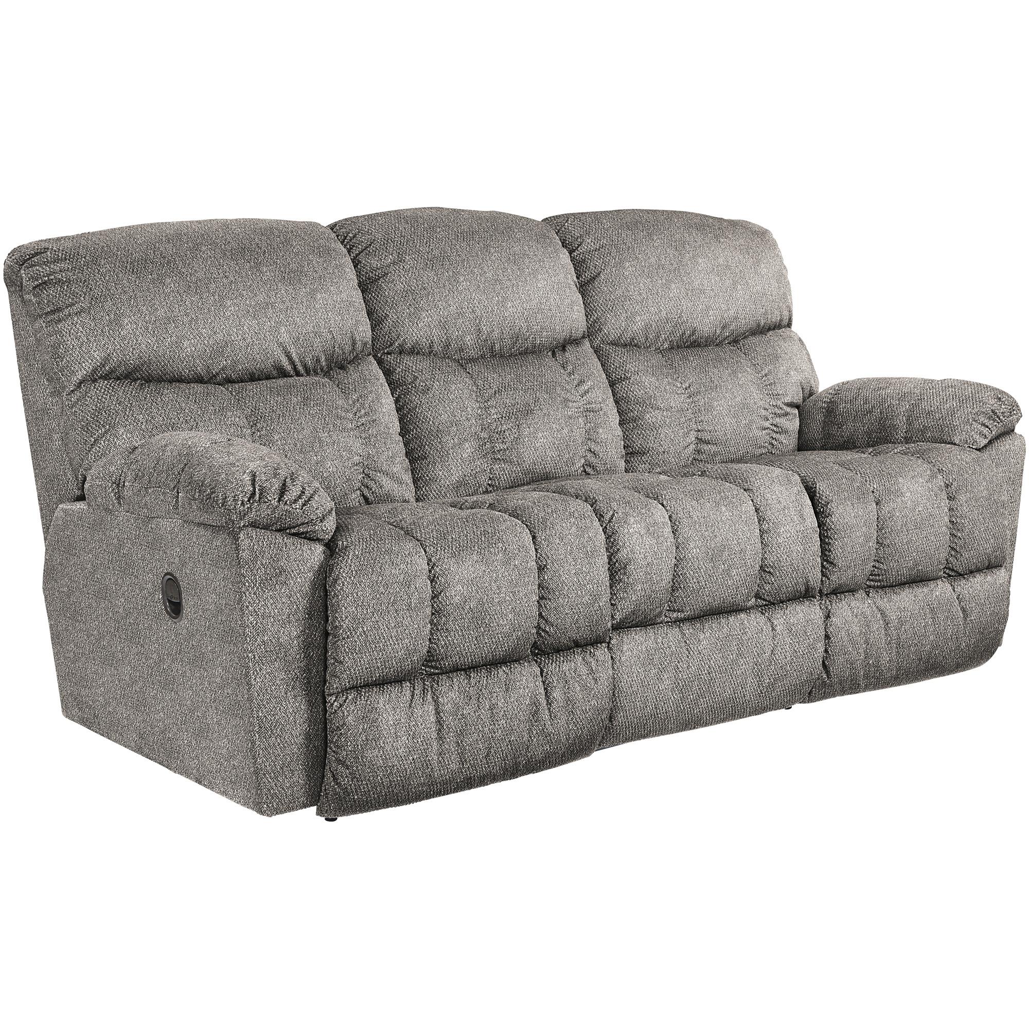 La-Z-Boy | Morrison Silver Reclining Sofa