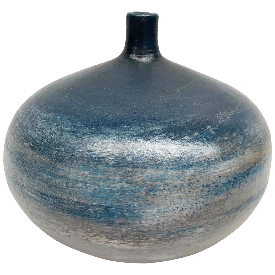 Promart | Terracotta Vasija Pirinola Blue Sea Vase