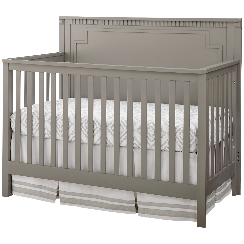 Westwood Design | Emery Gray Convertible Panel Crib