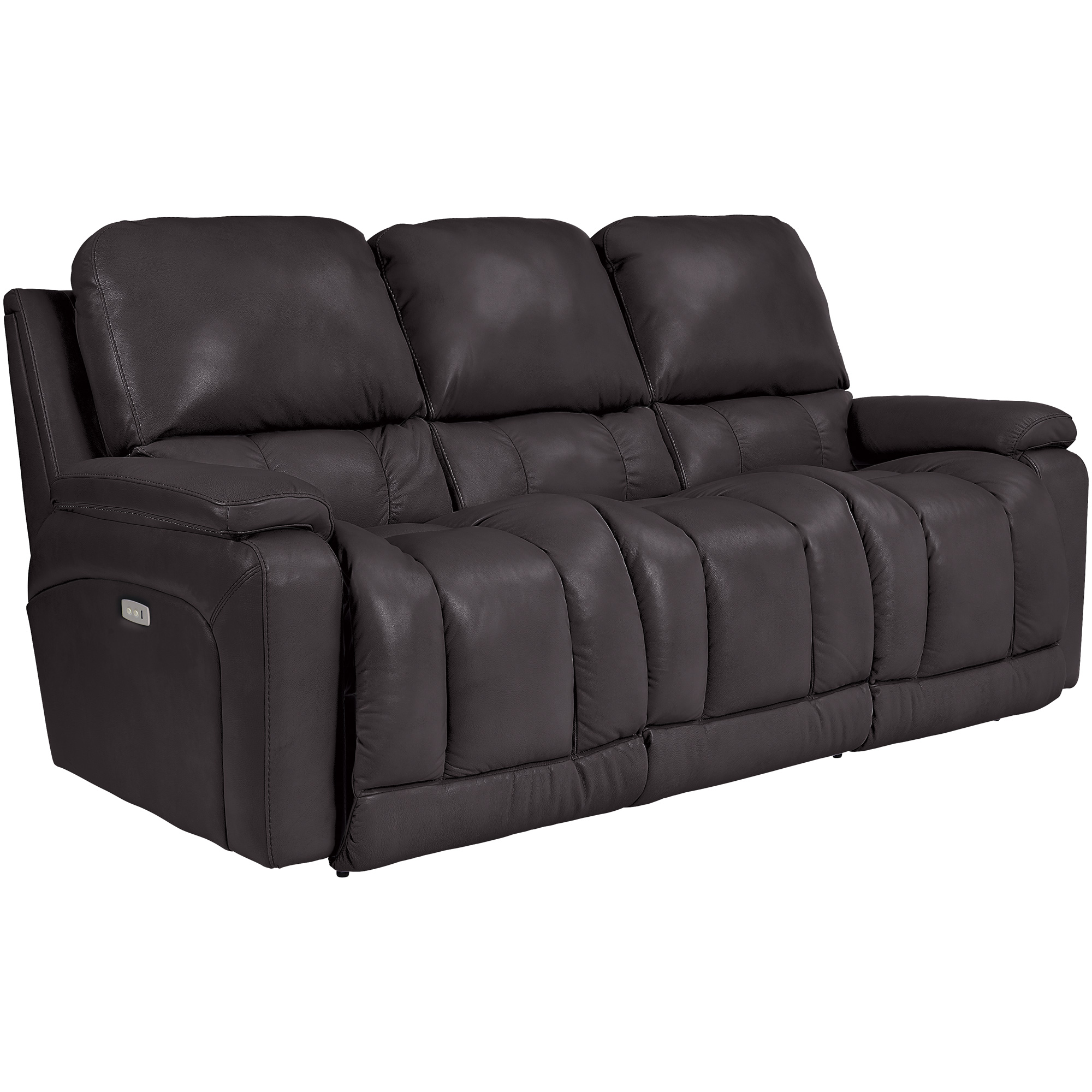 La-Z-Boy | Greyson Chocolate Power Reclining Sofa