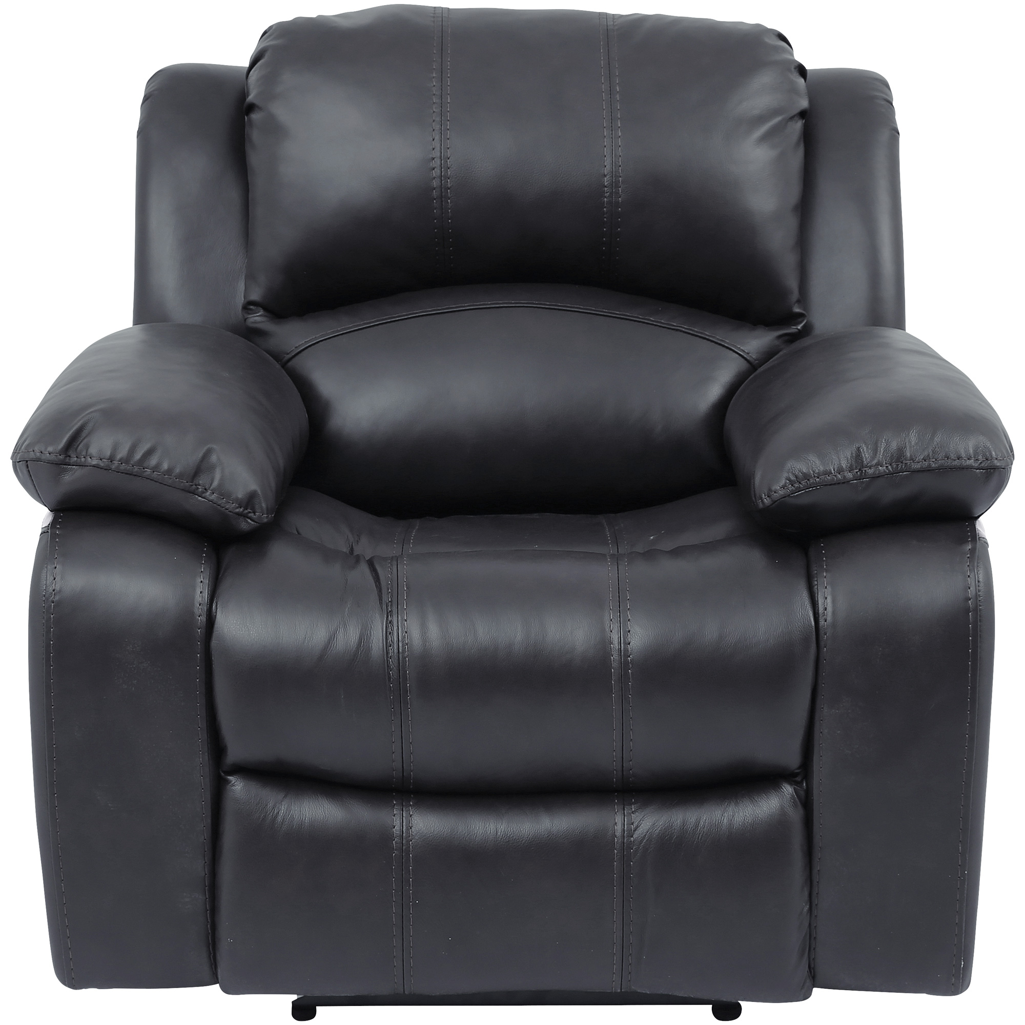 Wah Cheers | Ender Gray Leather Power+ Recliner Chair
