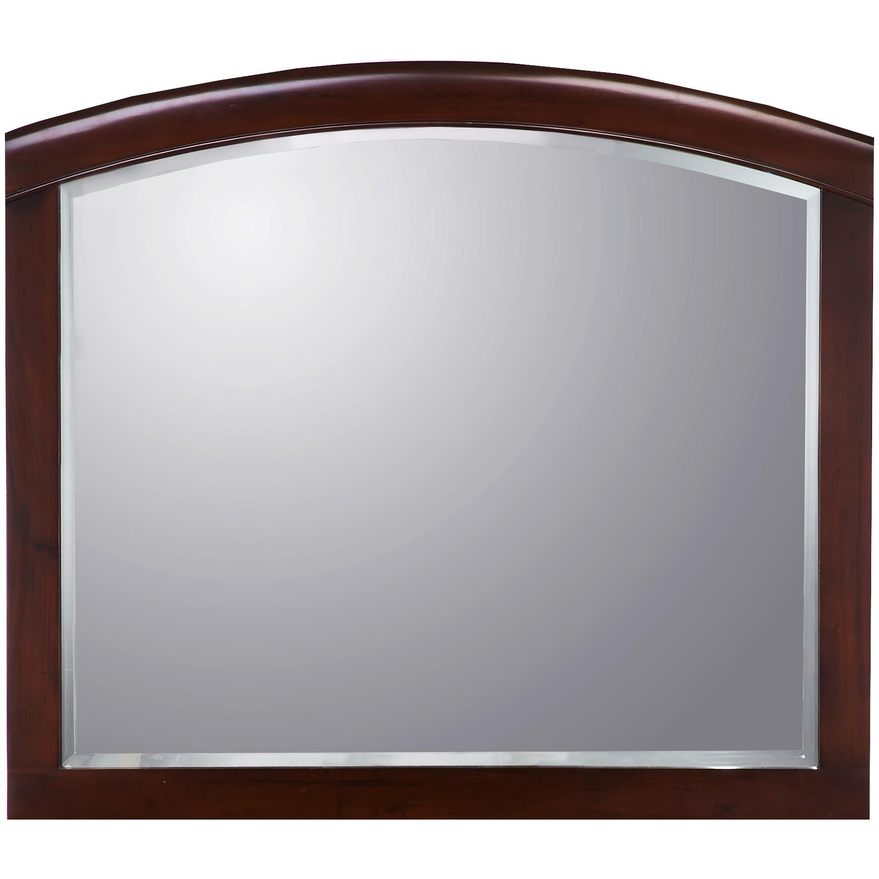 Modus Furniture International | Brighton Cinnamon Mirror | Mahogany