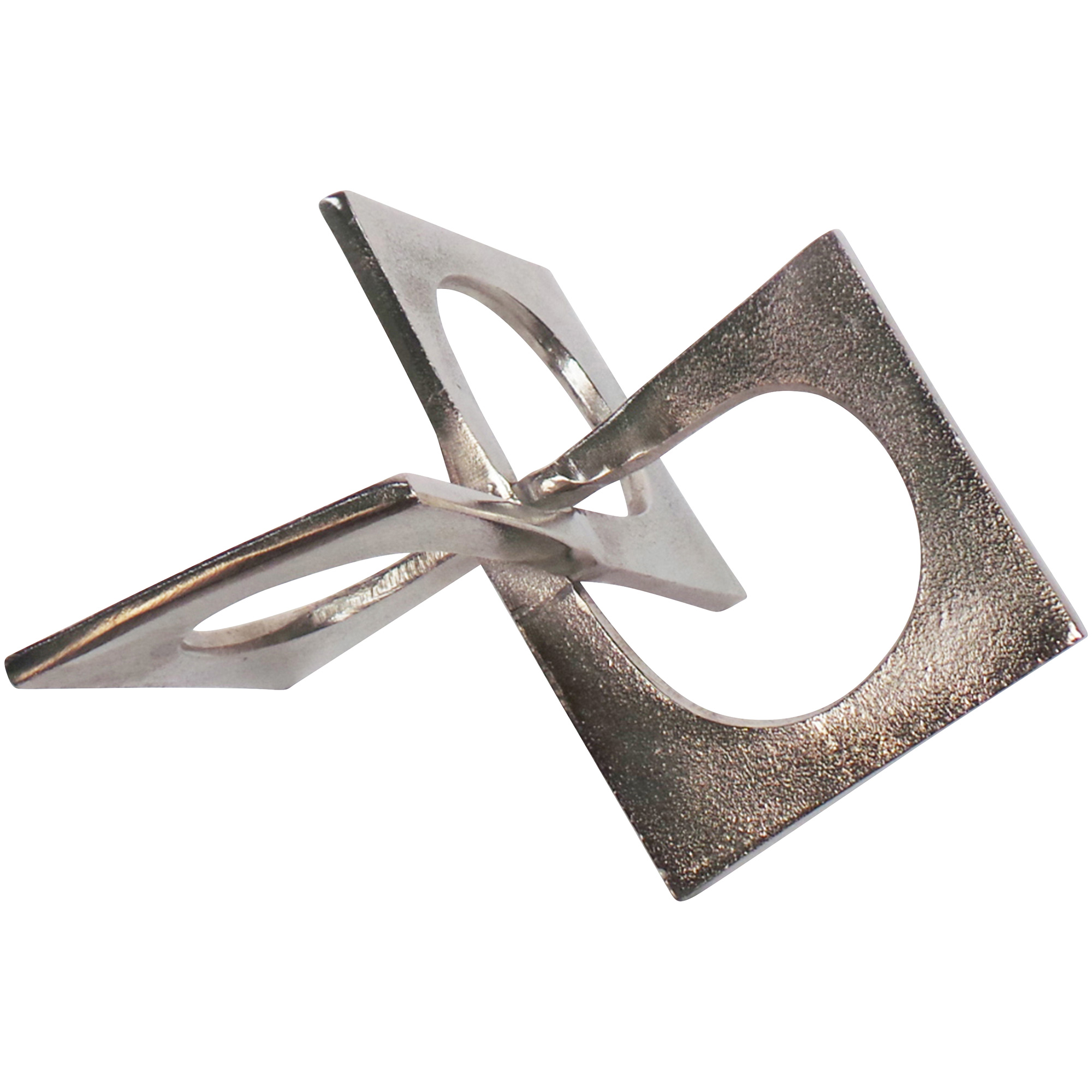 Sagebrook | Elevated Chic Silver Linked Square