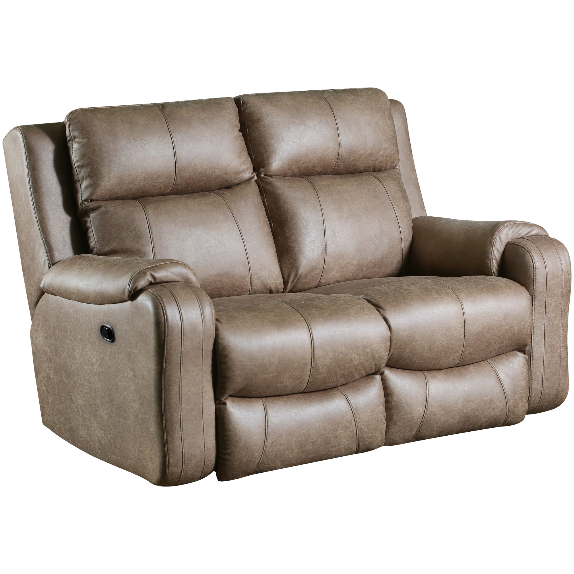 Southern Motion | Contour Vintage Reclining Loveseat Sofa
