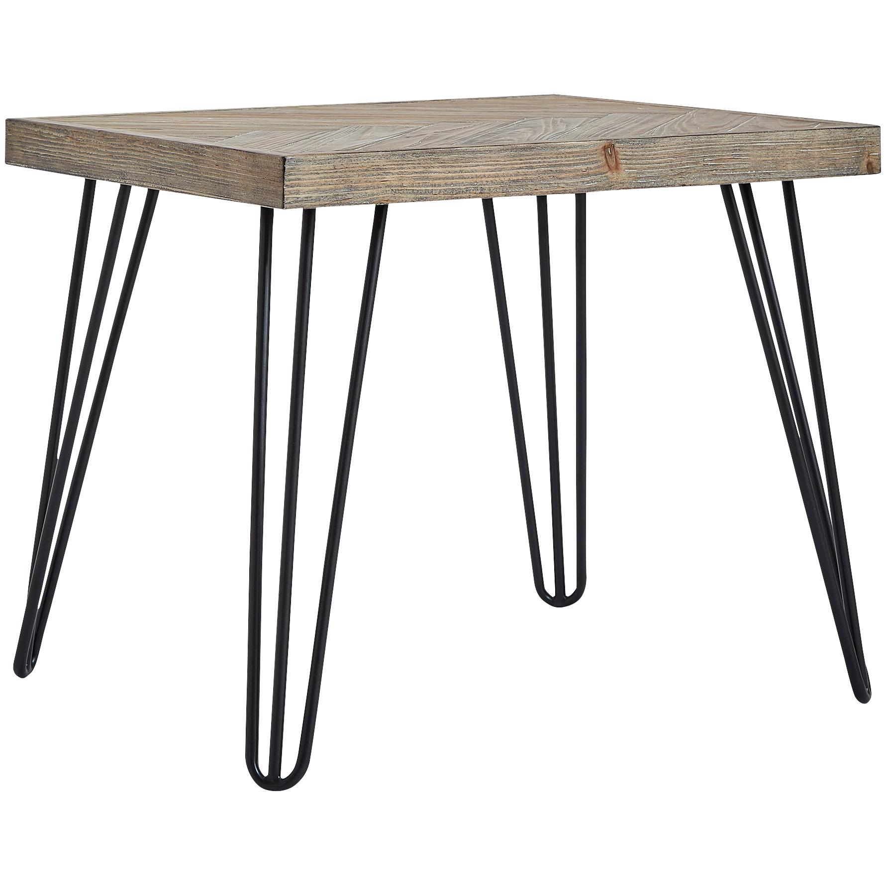 Home Elegance | Henry Oak End Table