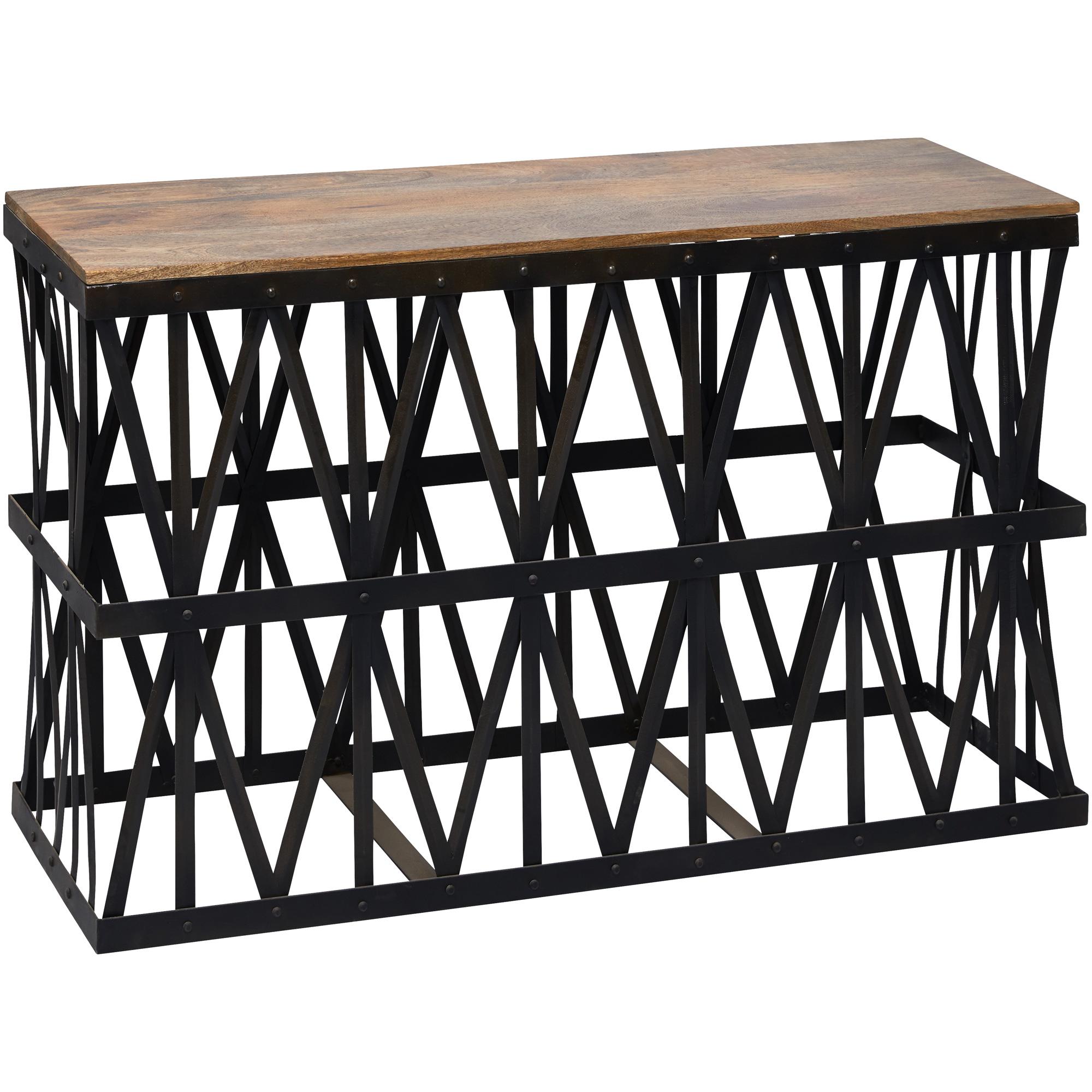 Jaipur Home LLC | Expressive Impressions Black Console Table