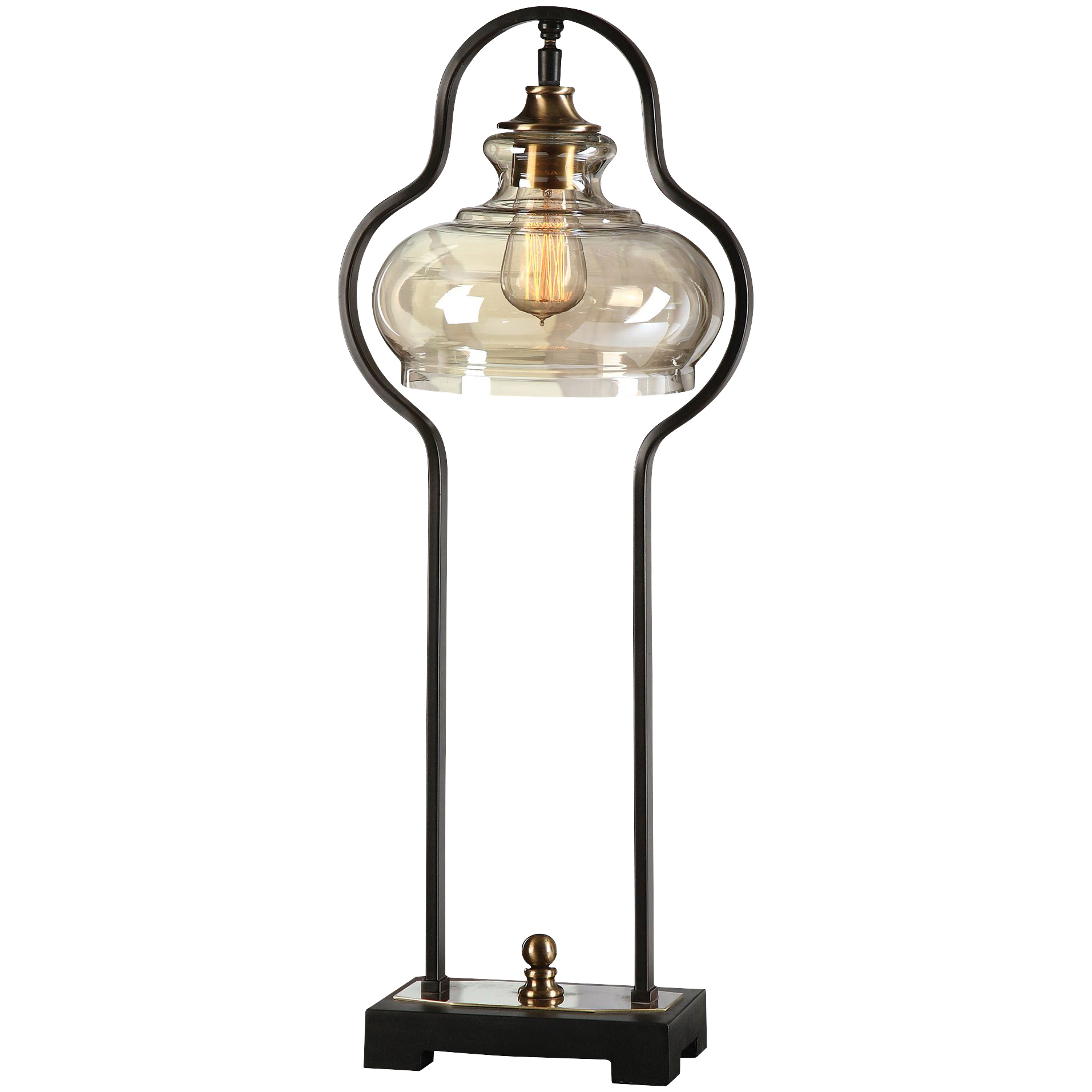 Uttermost | Cotulla Aged Black Desk Lamp