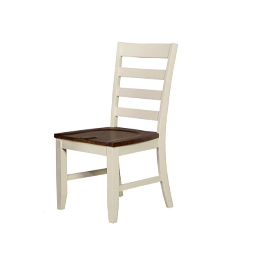 A America | Sun Valley White Ladderback Chair