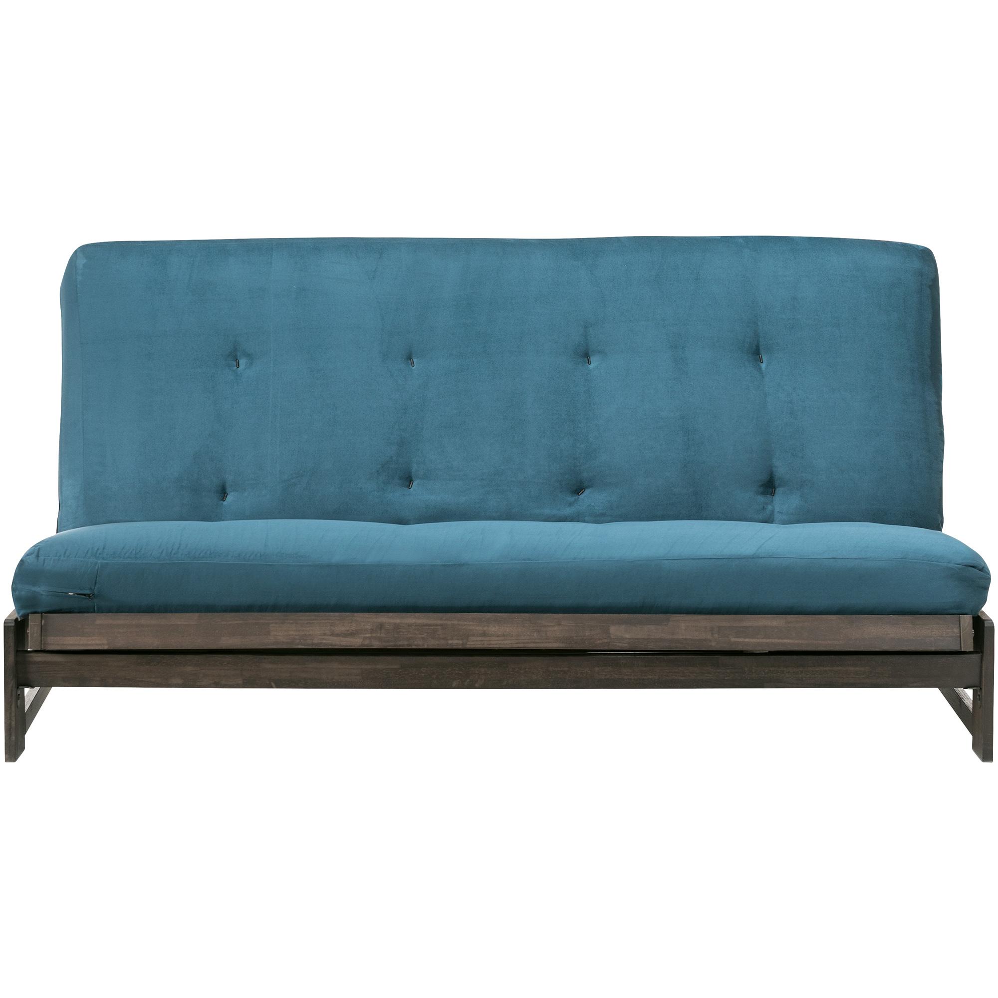 Kodiak Furniture | Aspen Espresso Armless Futon Frame | Dark Brown
