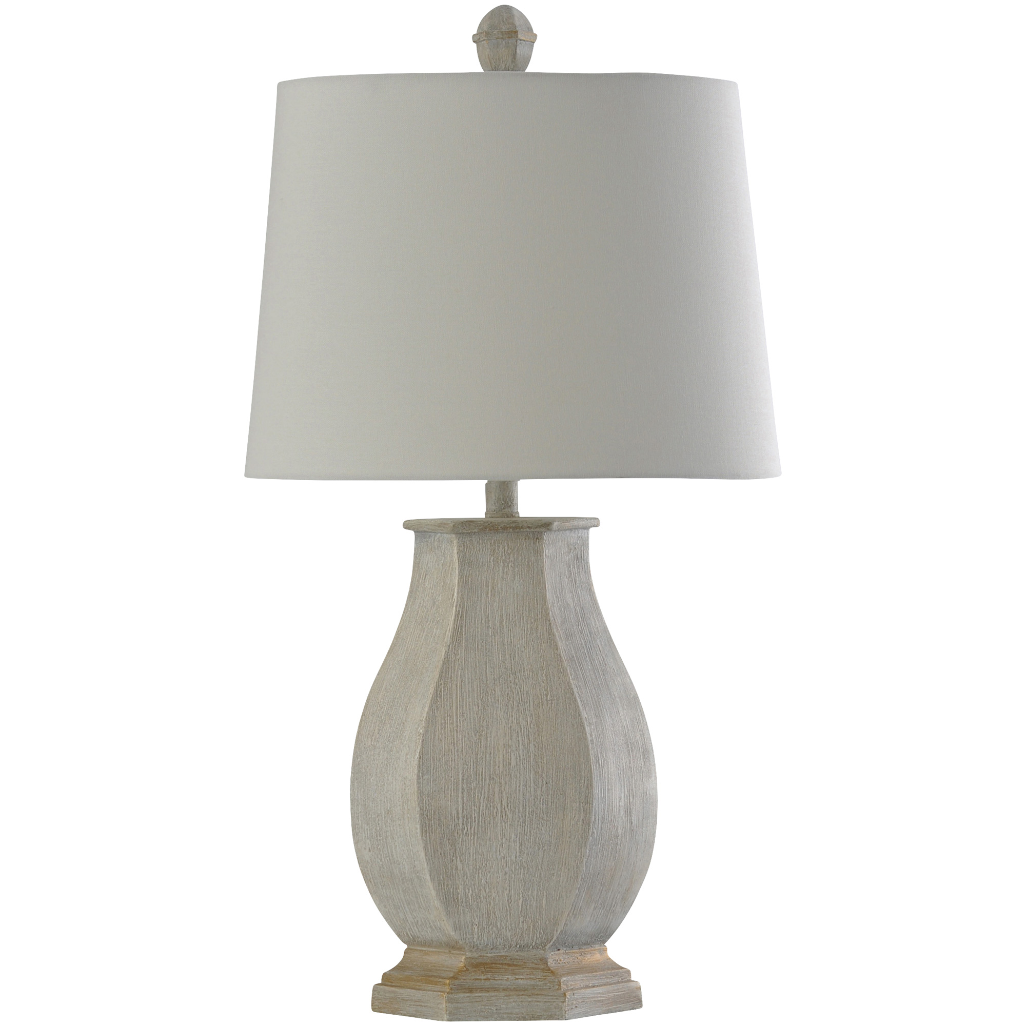 Stylecraft Home Collection | Basilica White Table Lamp