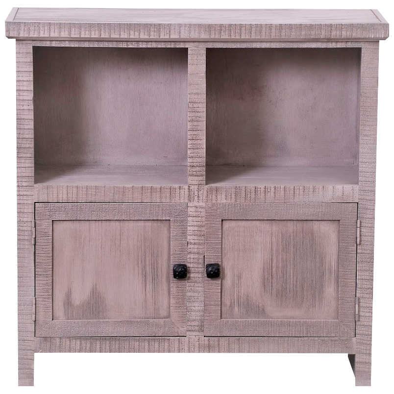 Kurio King | Fowler Gray 2 Door Cabinet