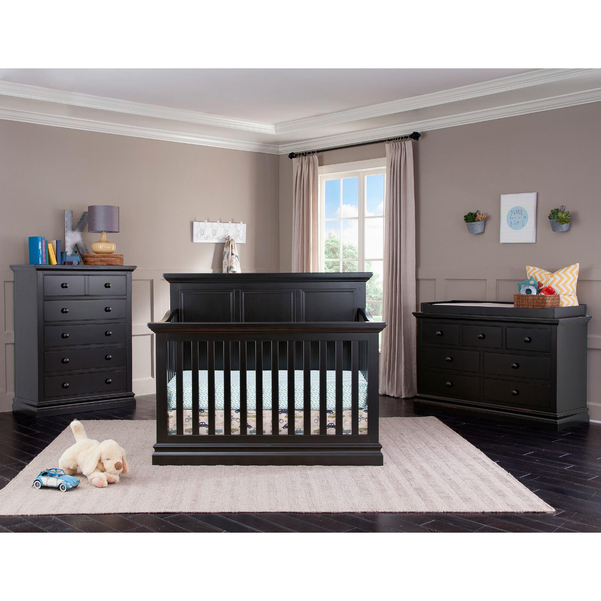 Westwood Design | Pine Ridge Black Crib