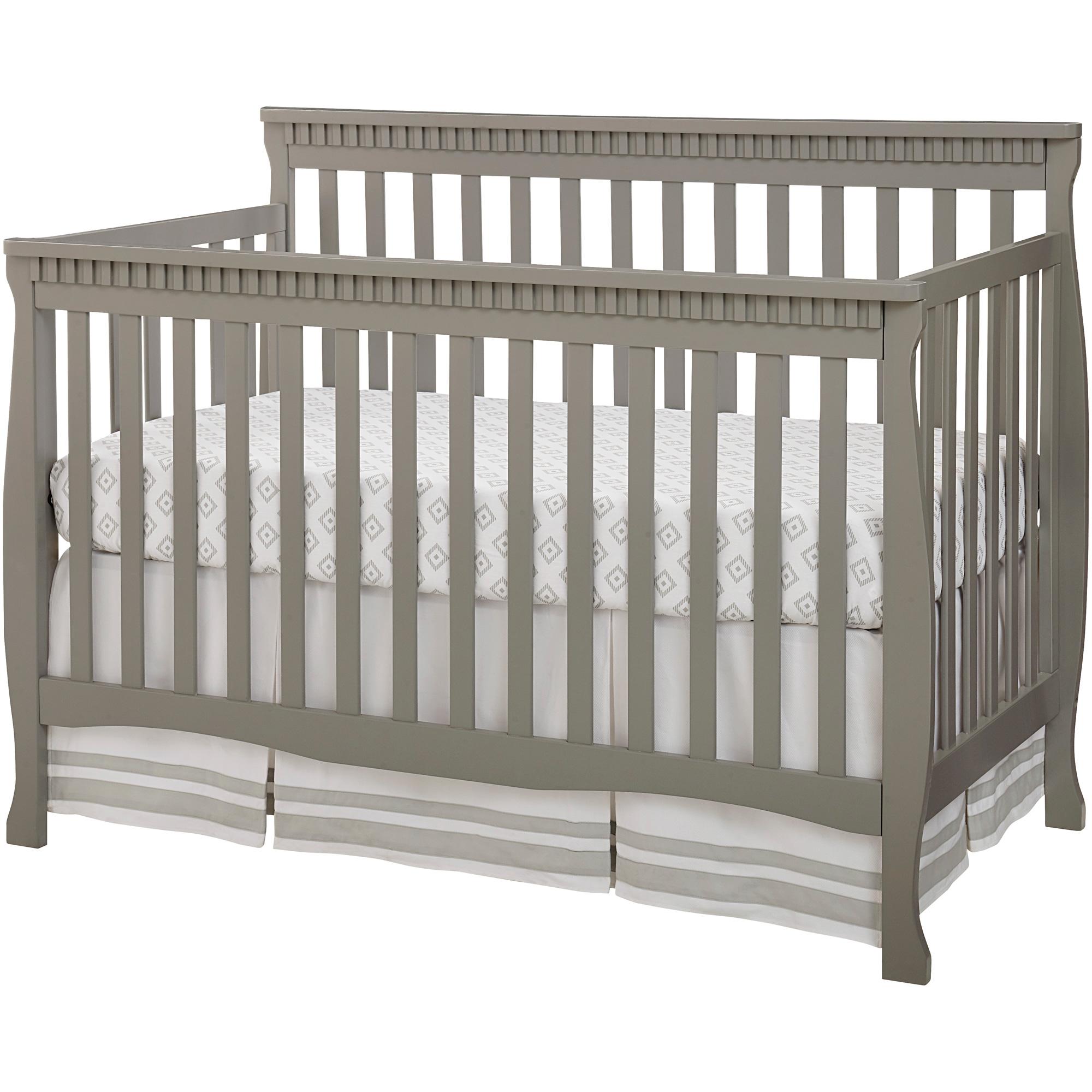 Westwood Design | Emery Gray Slat Crib