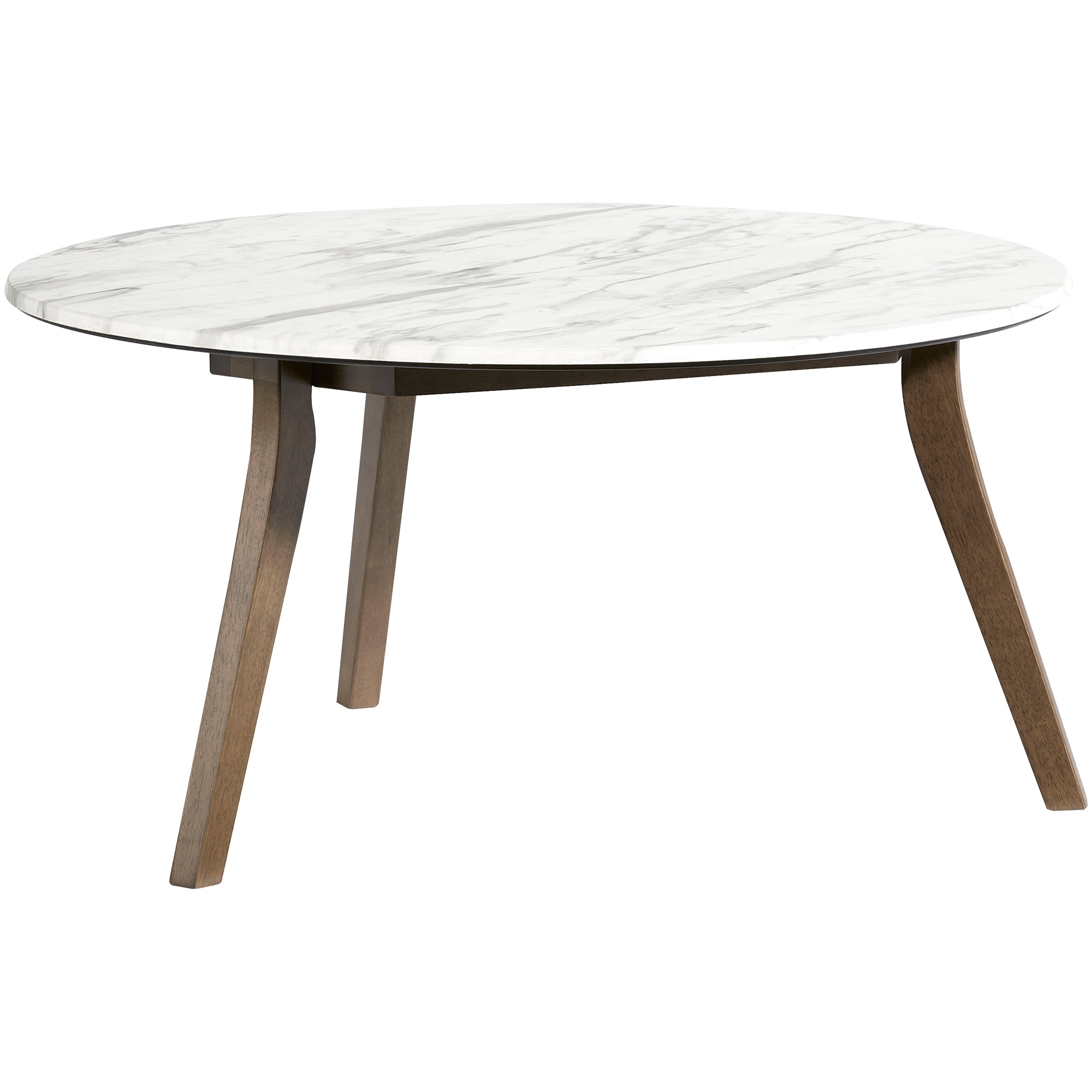 Progressive Furniture Inc. | Pixie White Round Coffee Table
