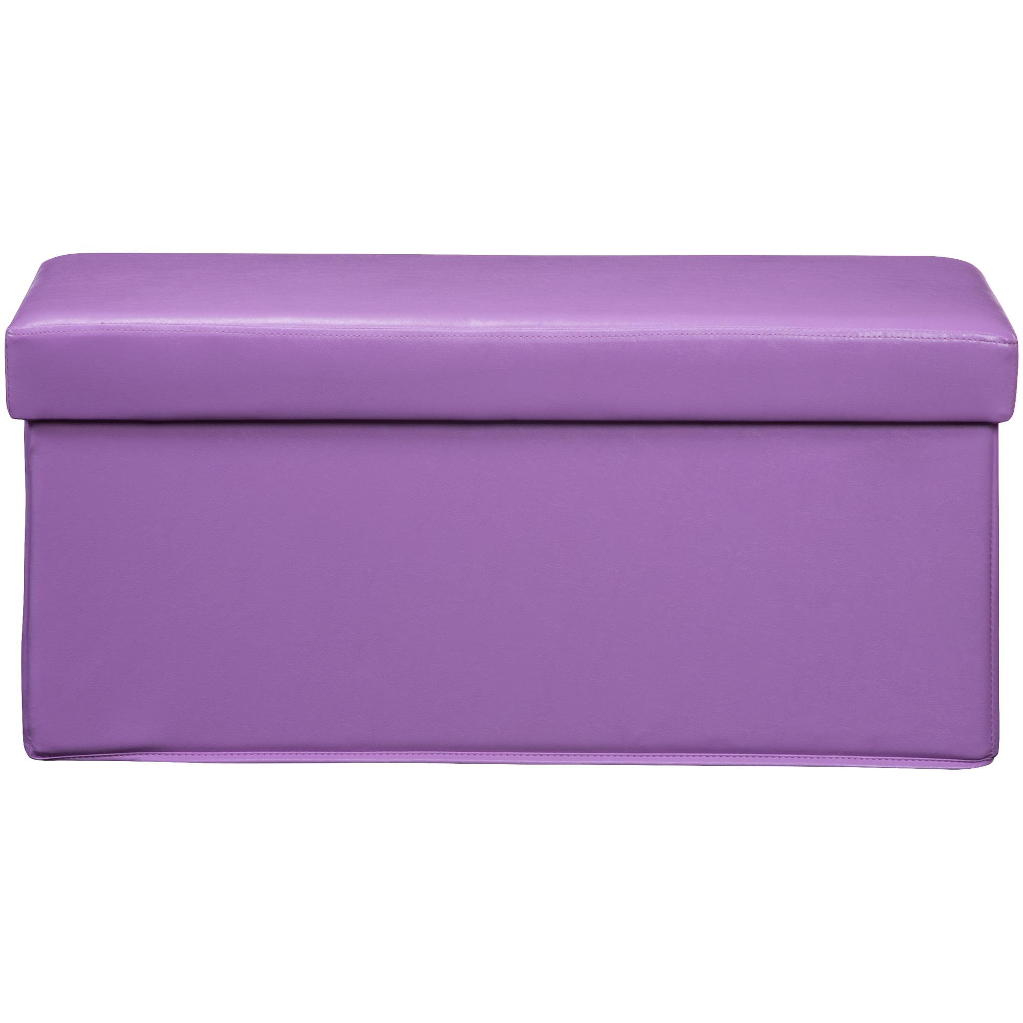 Kith Furniture | Gilbert Lavender Storage Bench