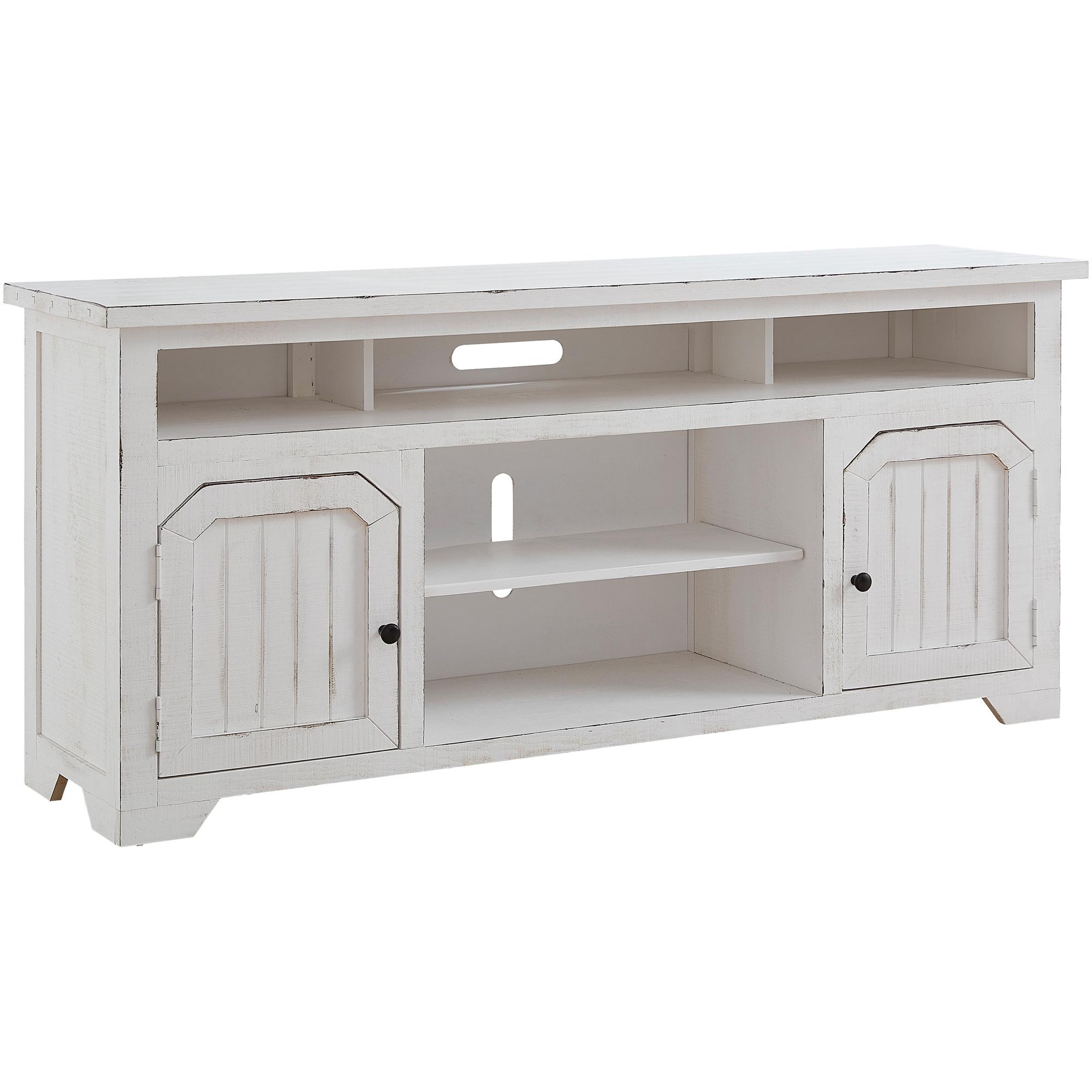 """Progressive Furniture Inc. | Elmhurst White 68"""" Console Table"""