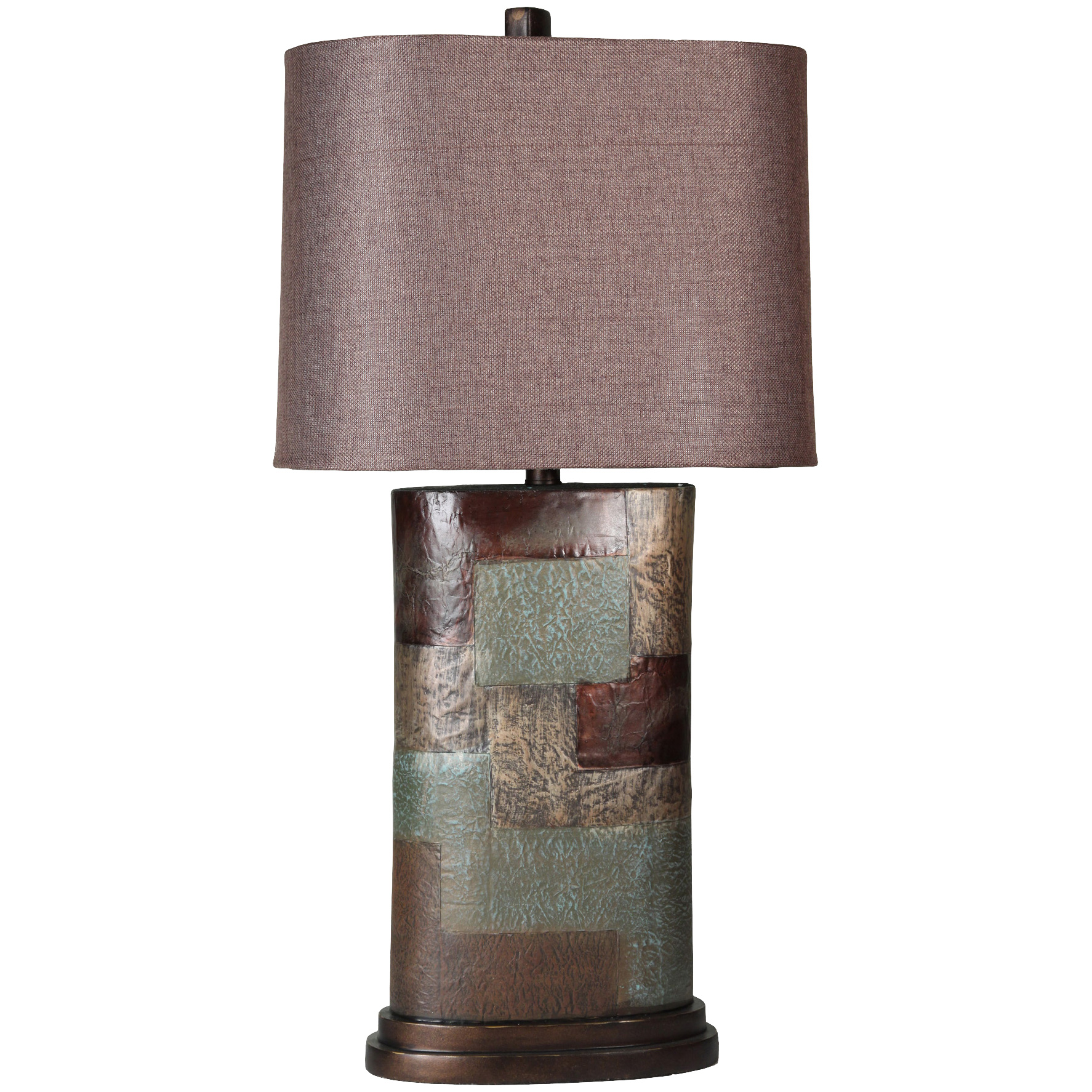 Stylecraft Home Collection | Grafton Patchwork Table Lamp