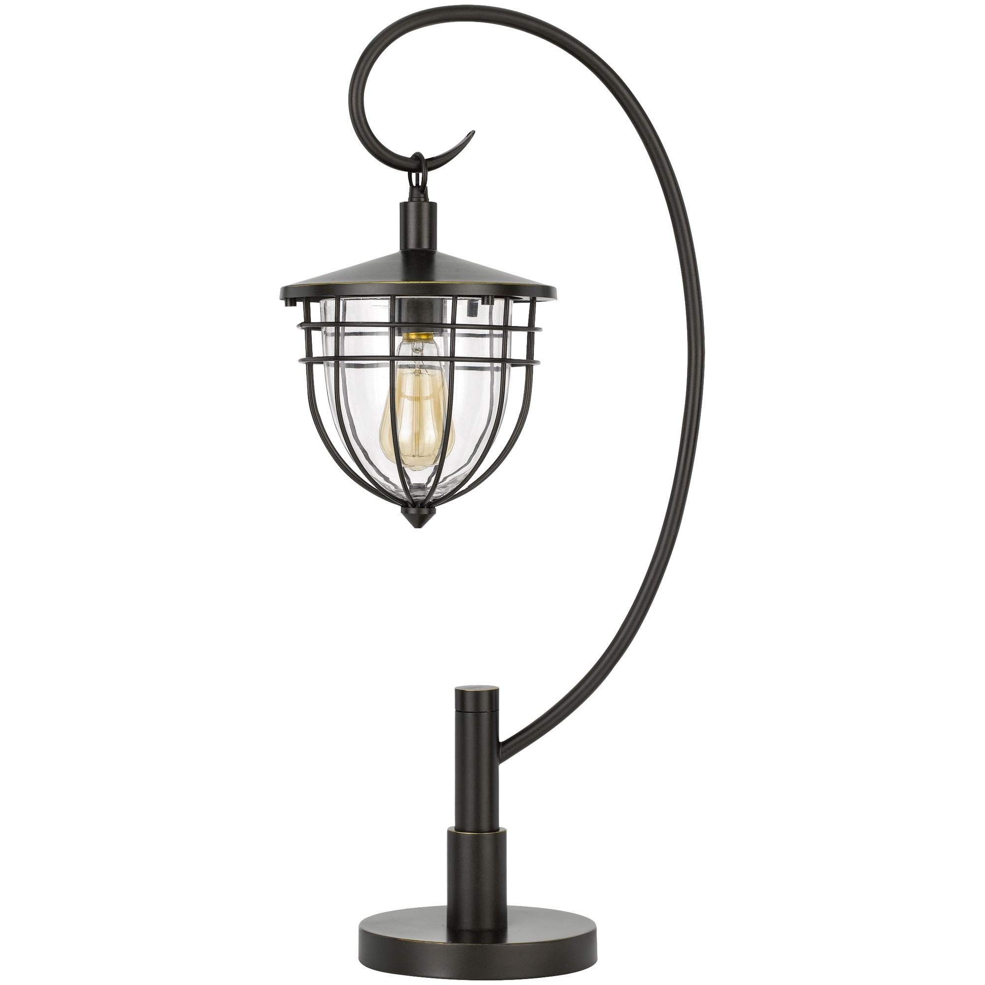Cal Lighting | Alma Dark Bronze Table Lamp