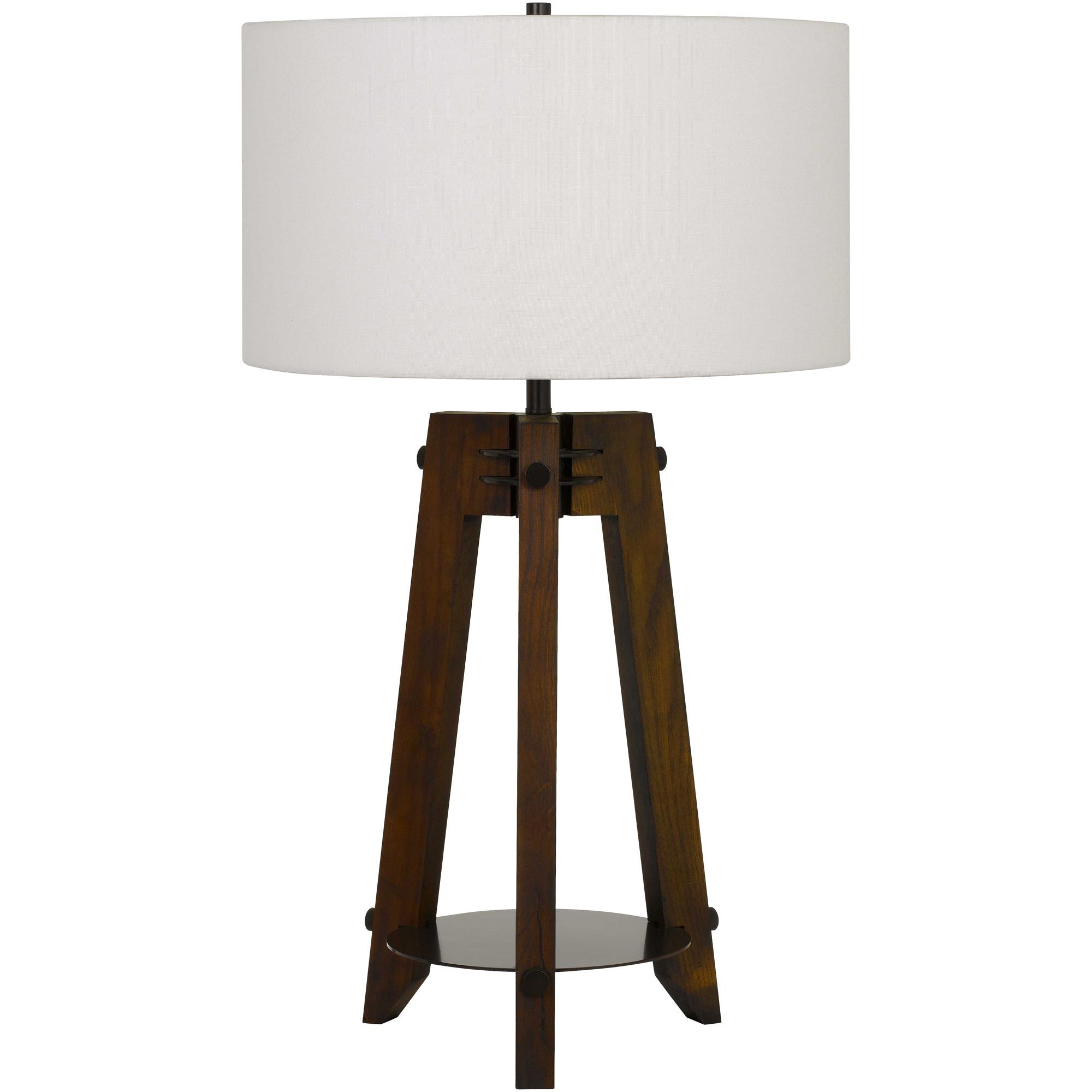 Cal Lighting | Bilzen Brown Table Lamp