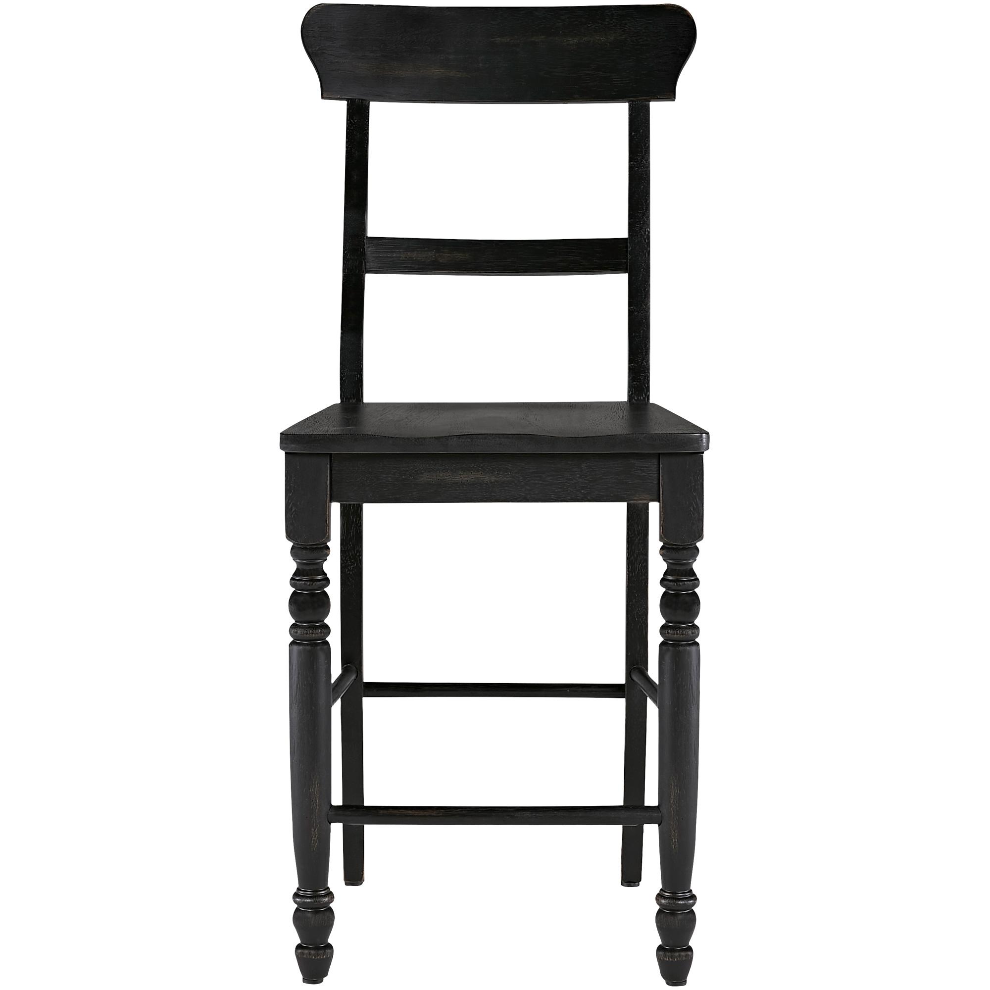 Progressive Furniture Inc. | Savannah Court Antique Black Counter Stool
