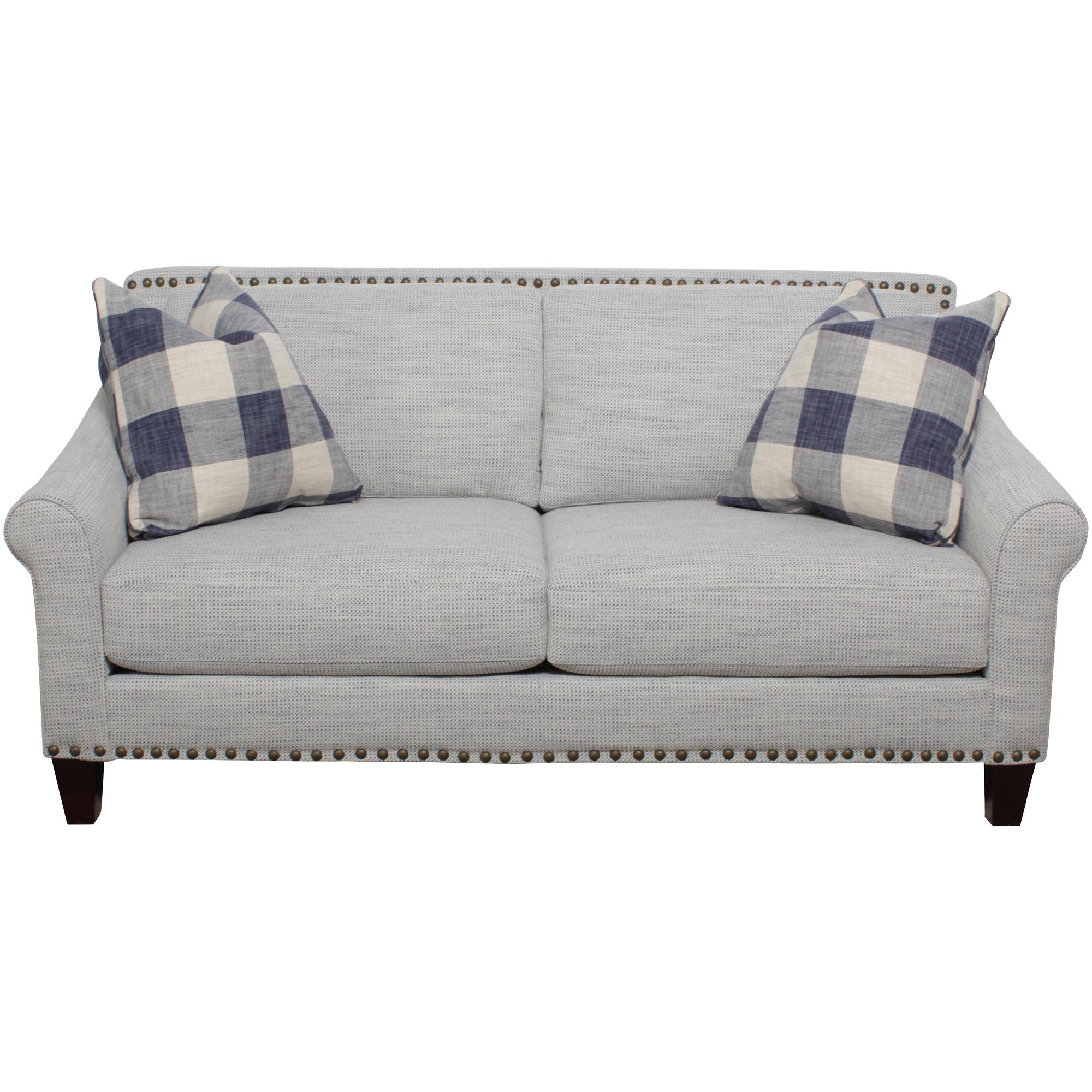 Bauhaus Furniture   Maren Mist Loveseat Sofa