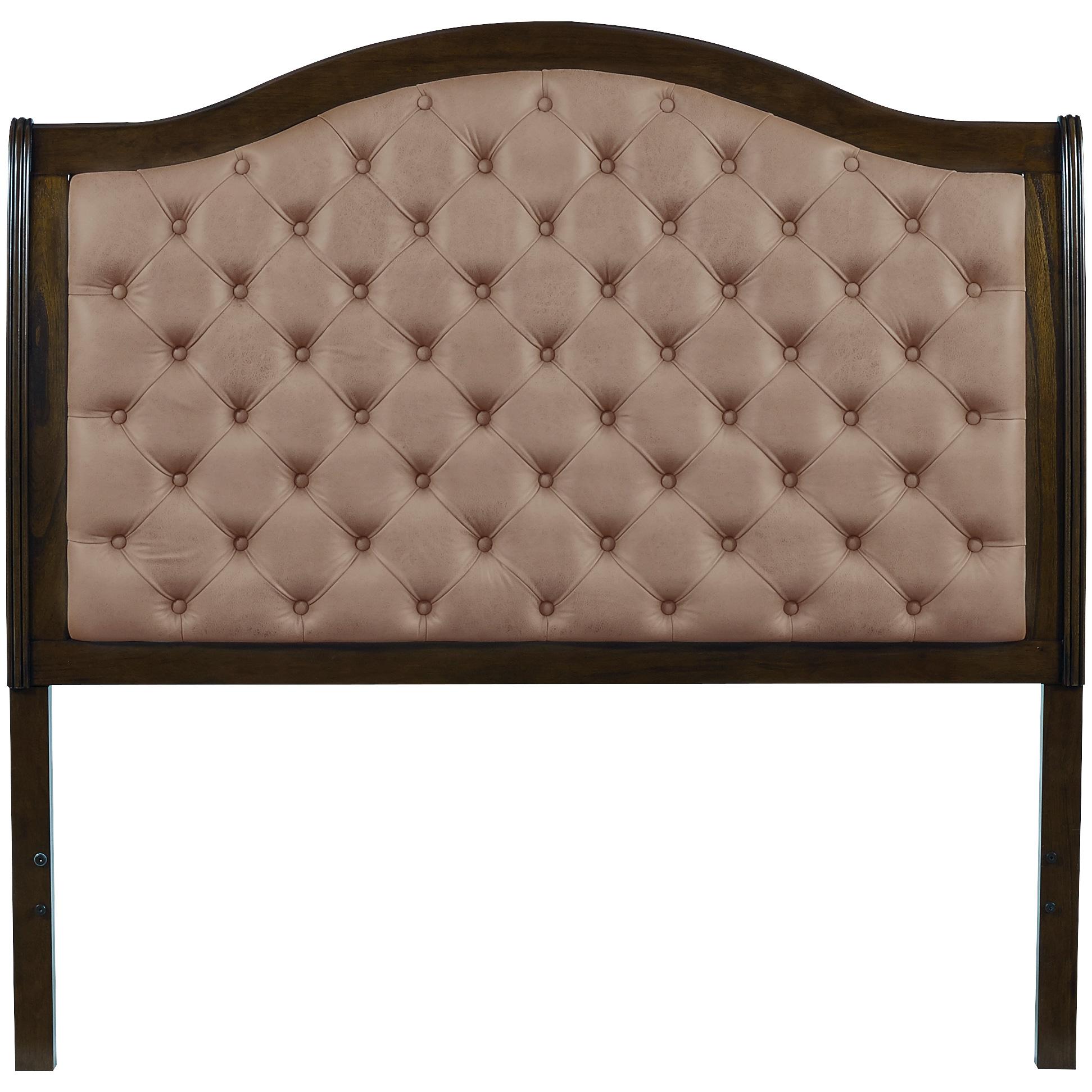 Progressive | Pearson Aged Oak King Upholstered Headboard