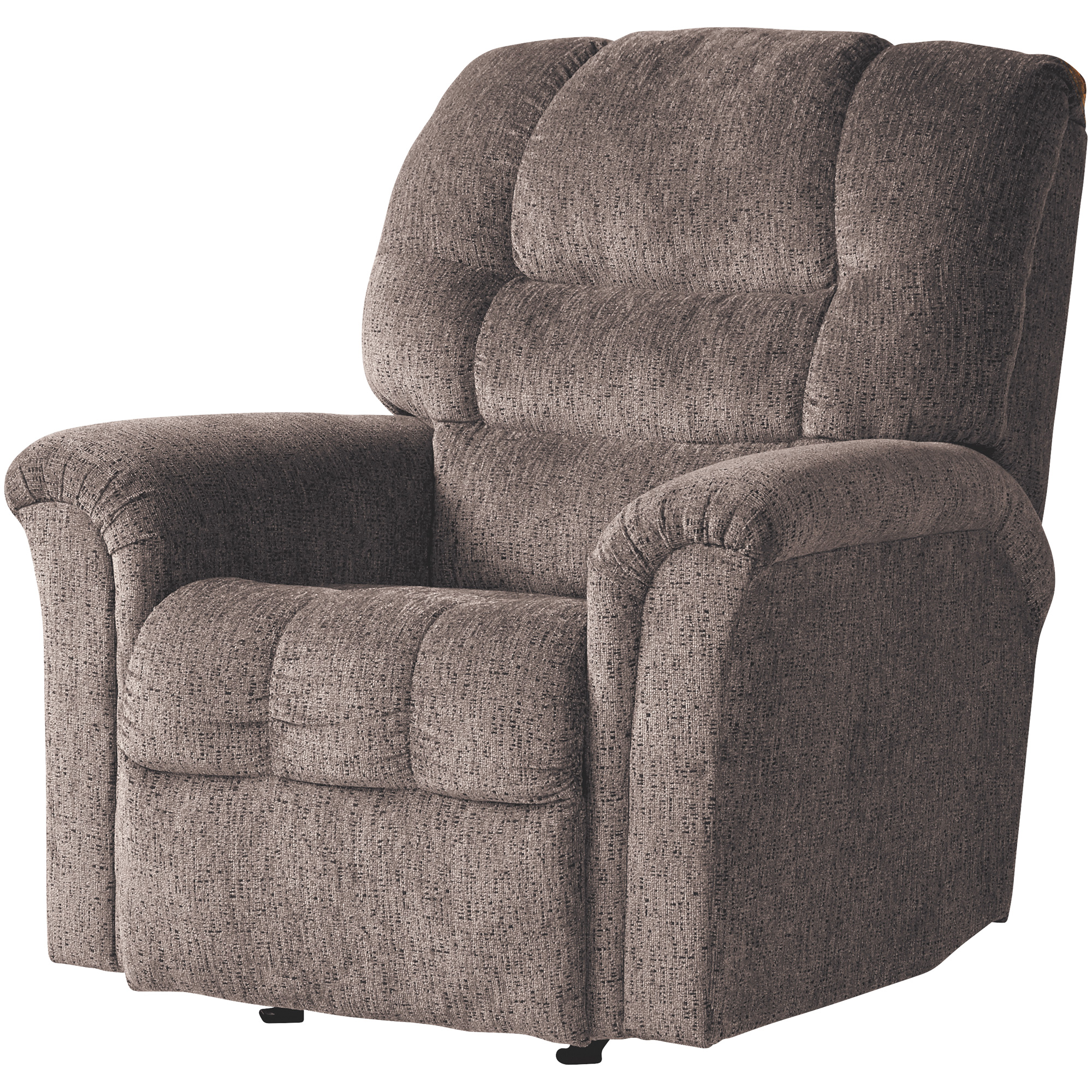 Hughes | Rocky Lewis Espresso Rocker Recliner Chair | Dark Brown