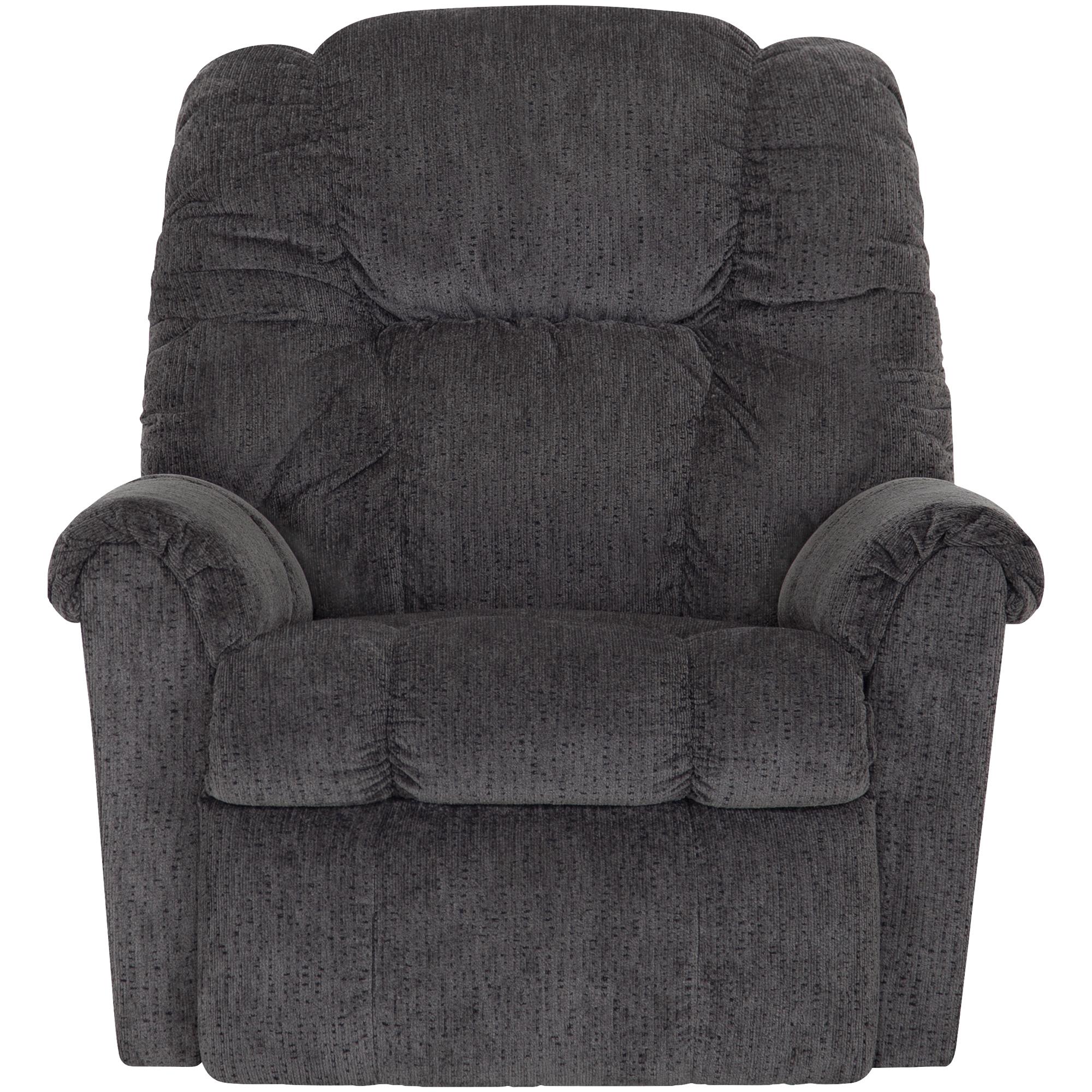 Franklin | Draco Charcoal Rocker Recliner Chair