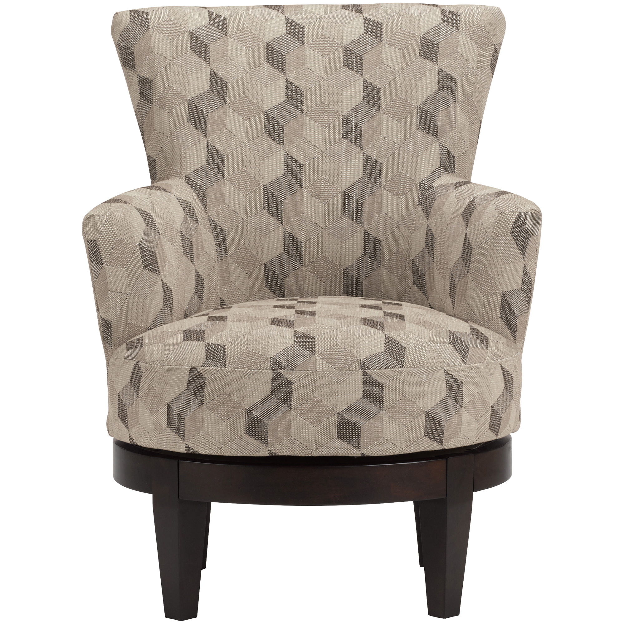 Best Home Furnishings | Justine Tan Swivel Accent Chair