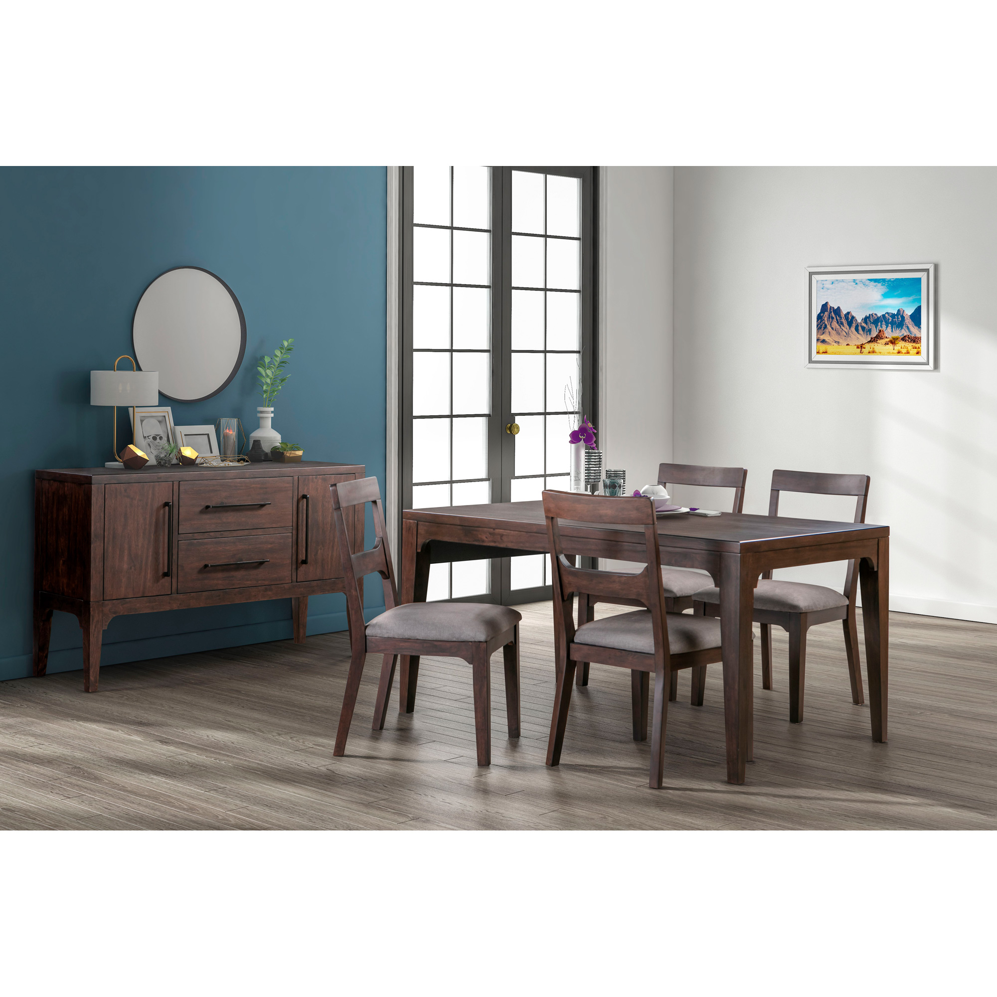 Modus Furniture International | Bryce Brown Horse 5 Piece Dining Set