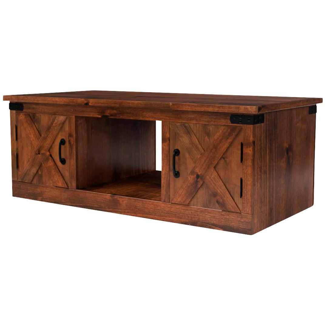 Legends   Farmhouse Aged Whiskey Coffee Table